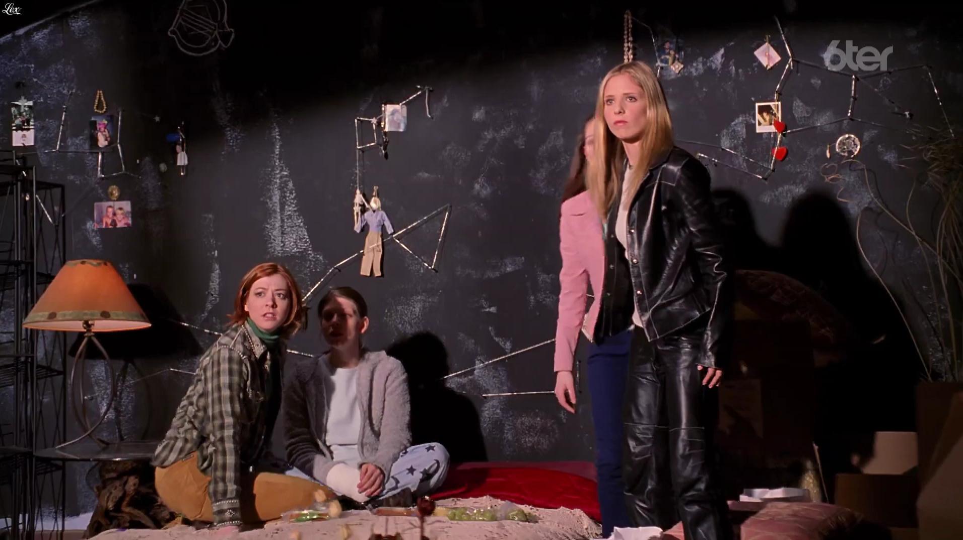 Sarah Michelle Gellar dans Buffy Contre les Vampires. Diffusé à la télévision le 06/07/17.