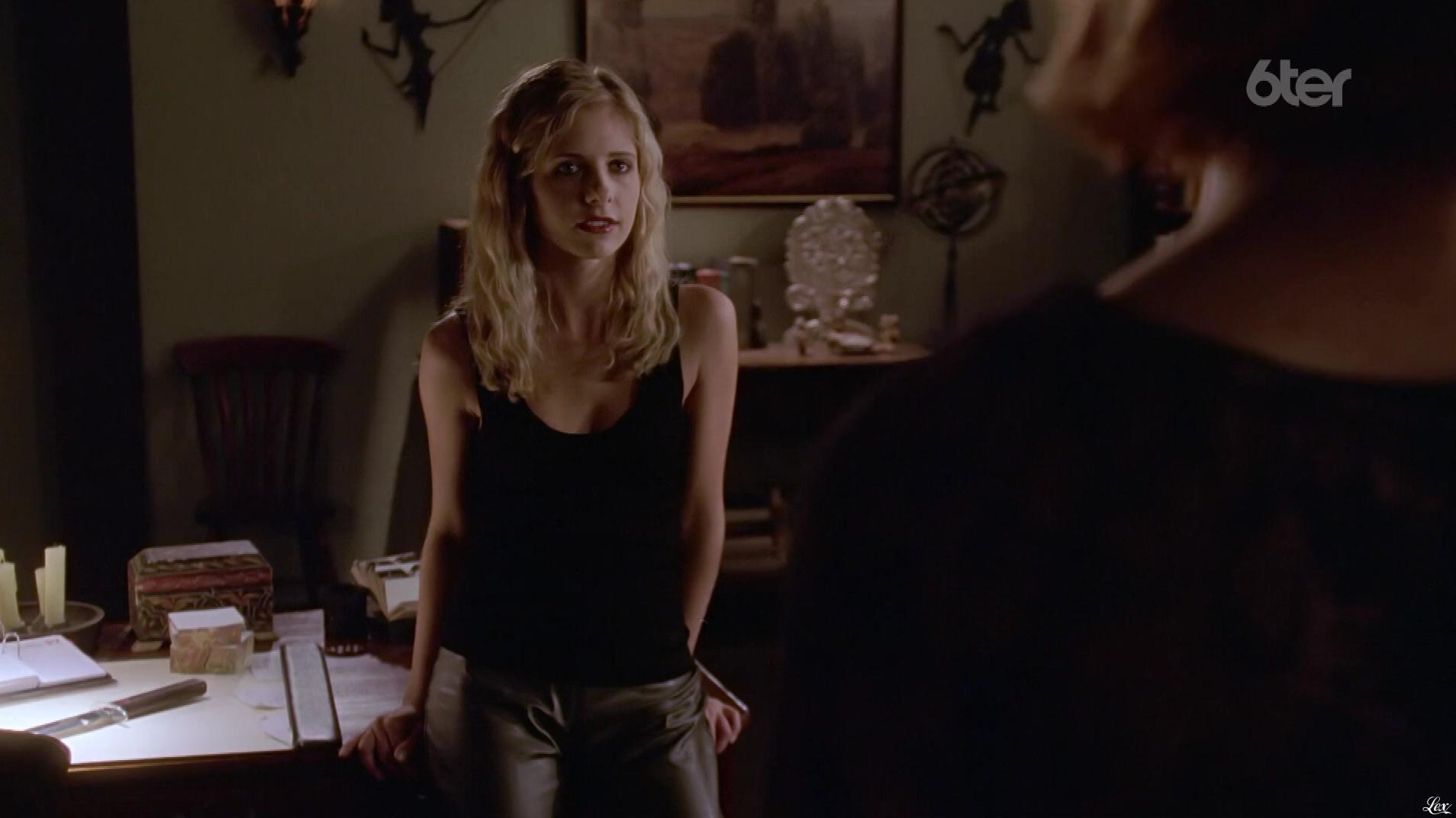 Sarah Michelle Gellar dans Buffy Contre les Vampires. Diffusé à la télévision le 19/06/17.