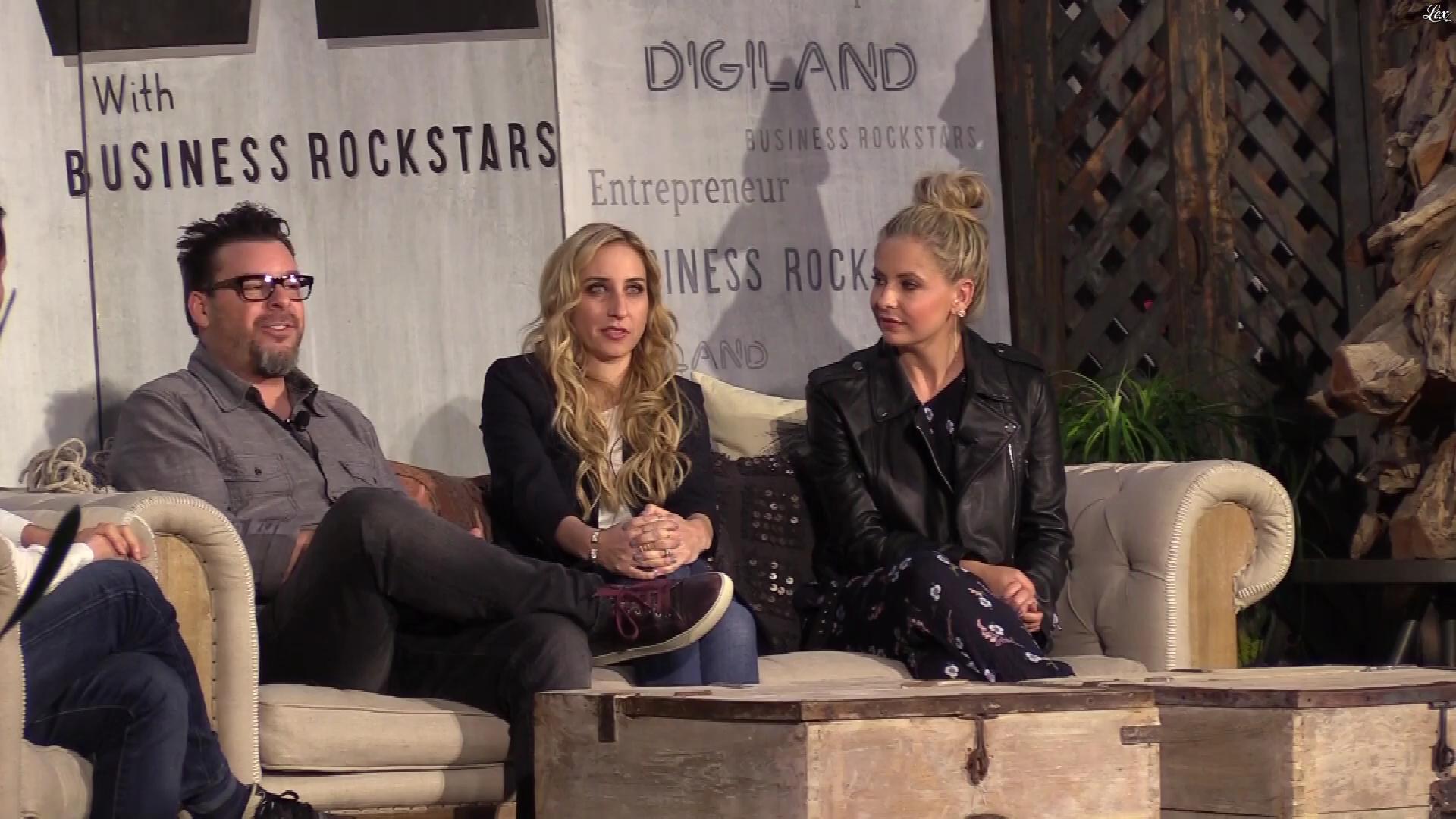 Sarah Michelle Gellar dans Entrepreneur. Diffusé à la télévision le 15/11/17.