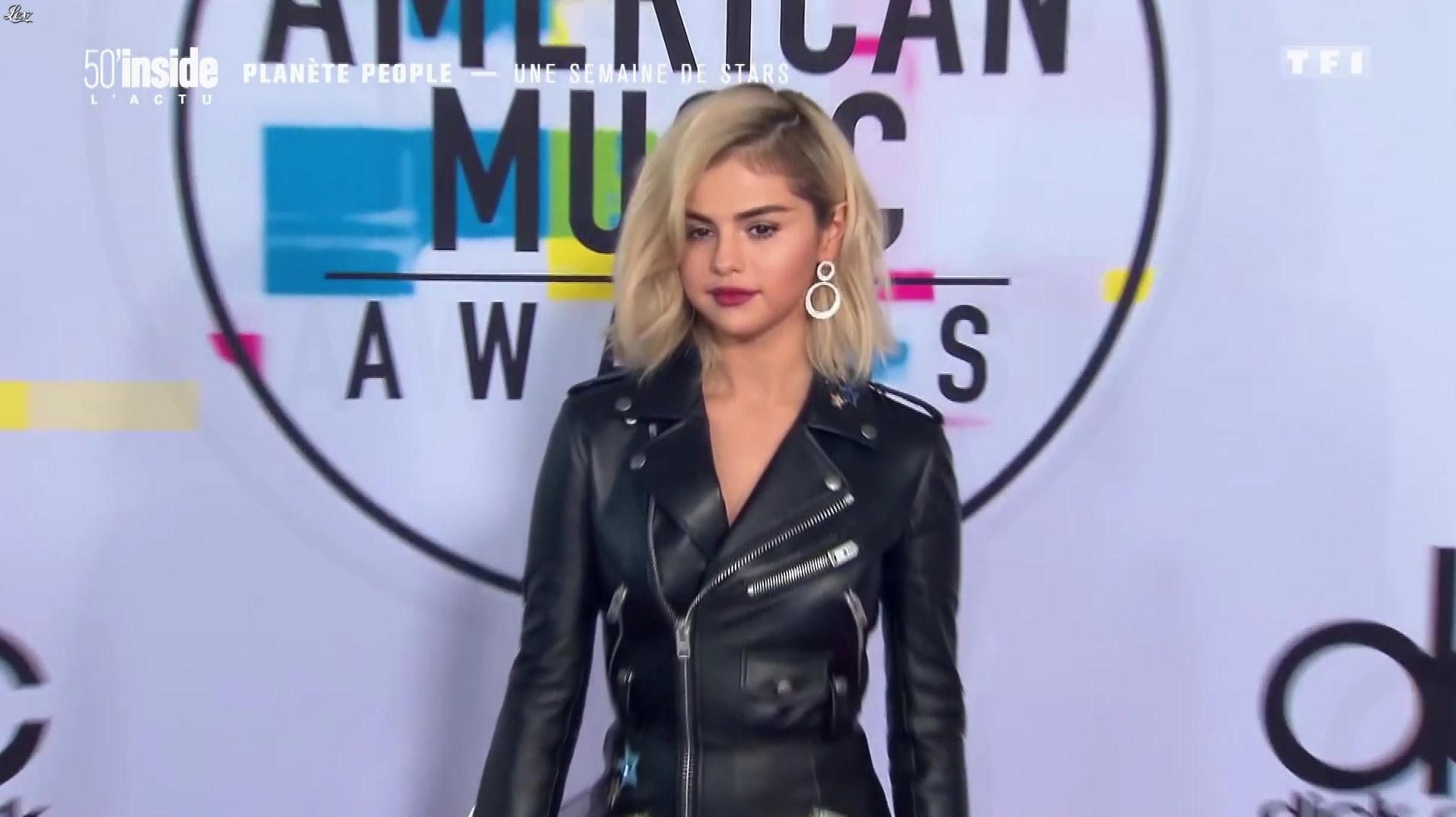 Selena Gomez dans 50 Minutes Inside. Diffusé à la télévision le 25/11/17.