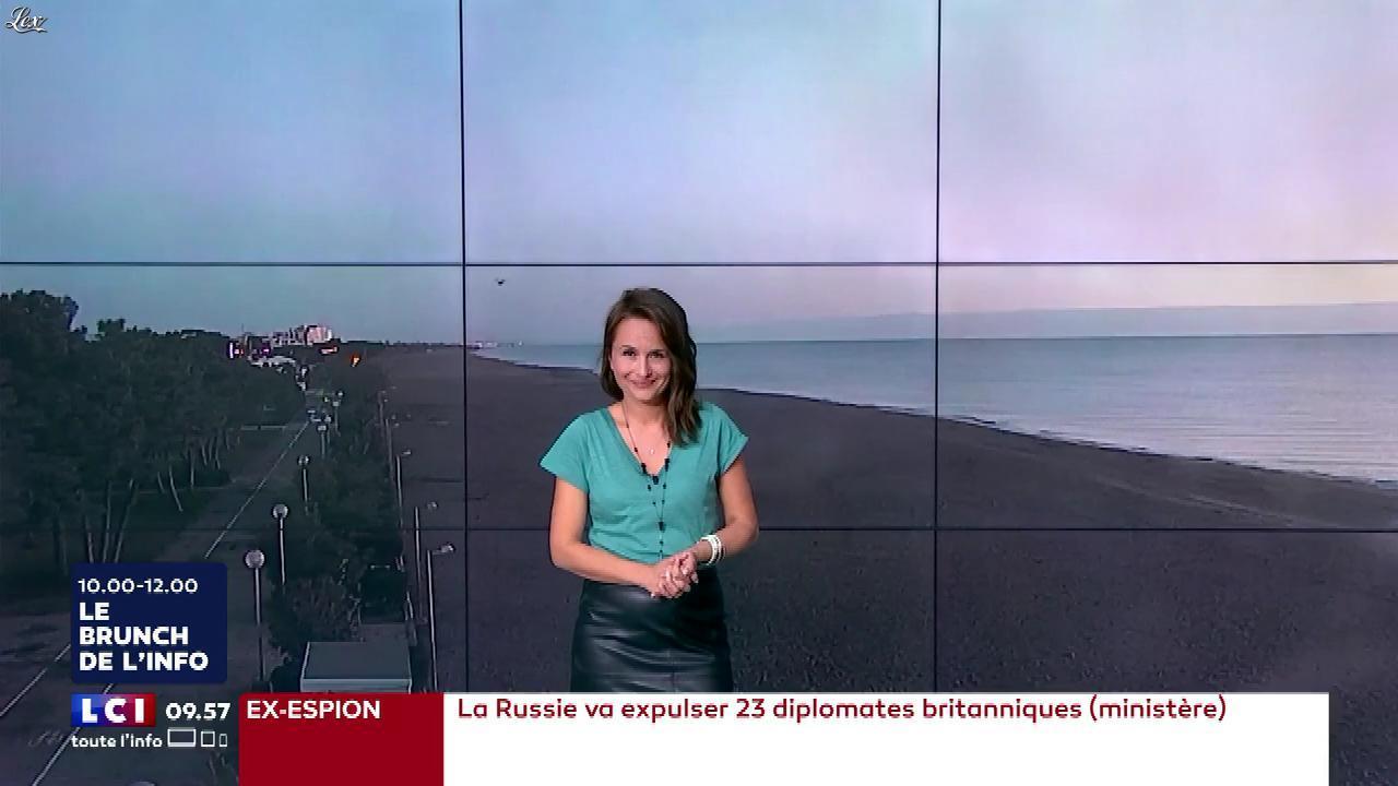Solène Chavanne dans le Brunch. Diffusé à la télévision le 17/03/18.