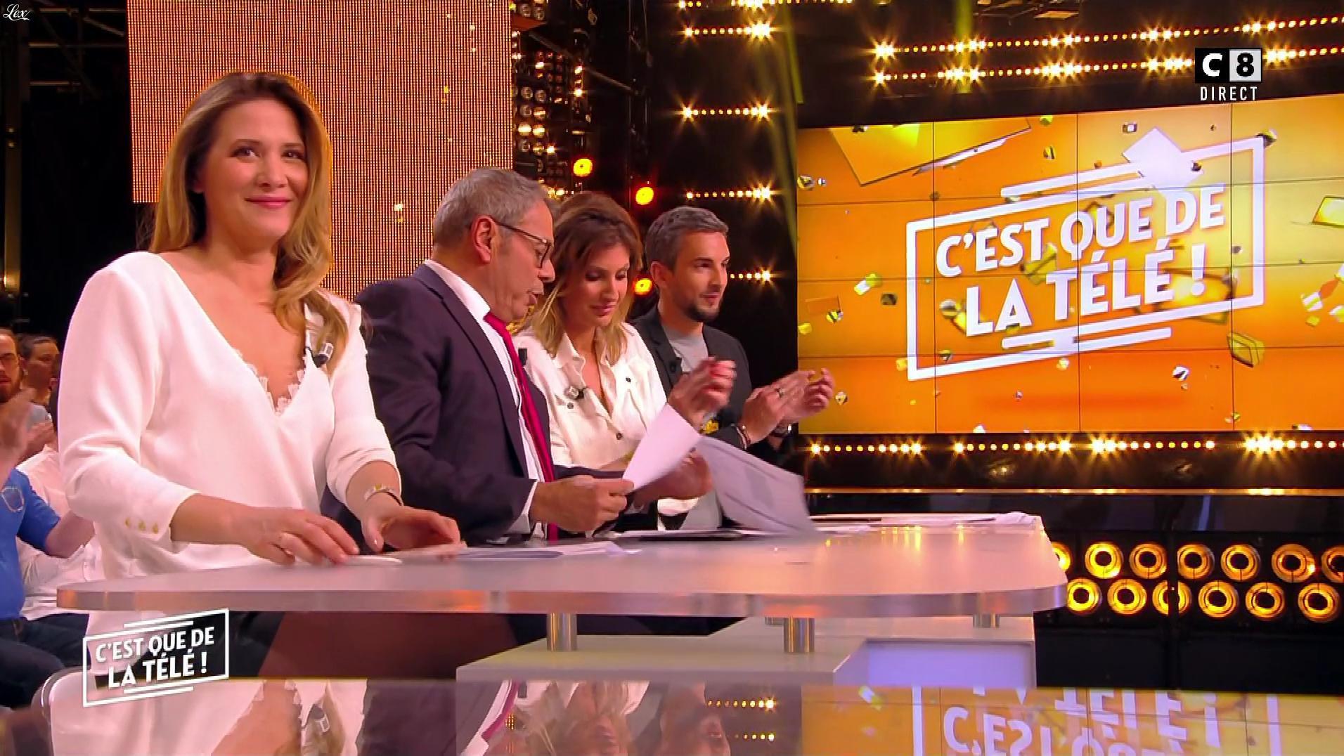 Stéphanie Loire dans c'est Que de la Télé. Diffusé à la télévision le 17/03/18.