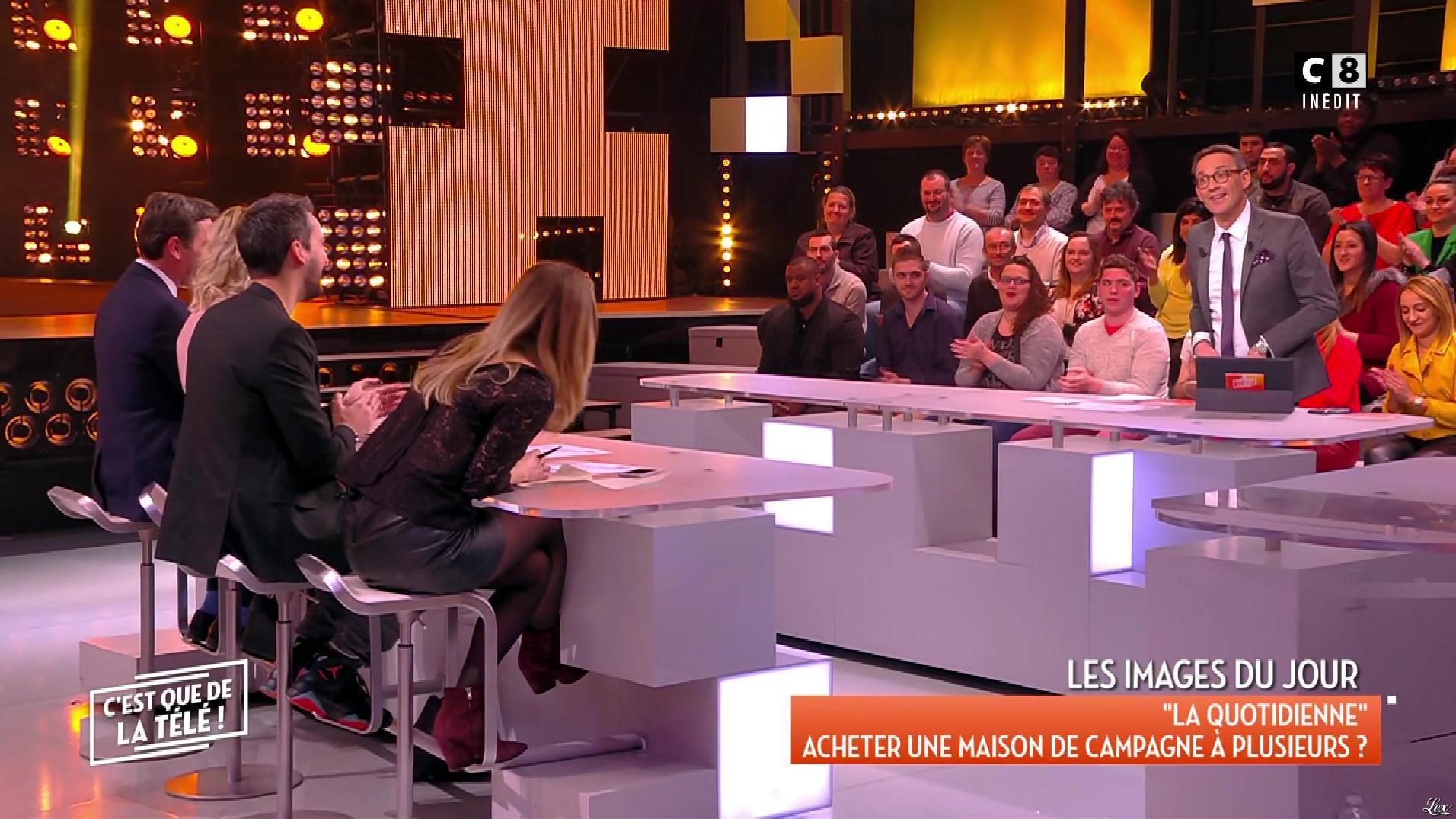 Stéphanie Loire dans c'est Que de la Télé. Diffusé à la télévision le 22/01/18.