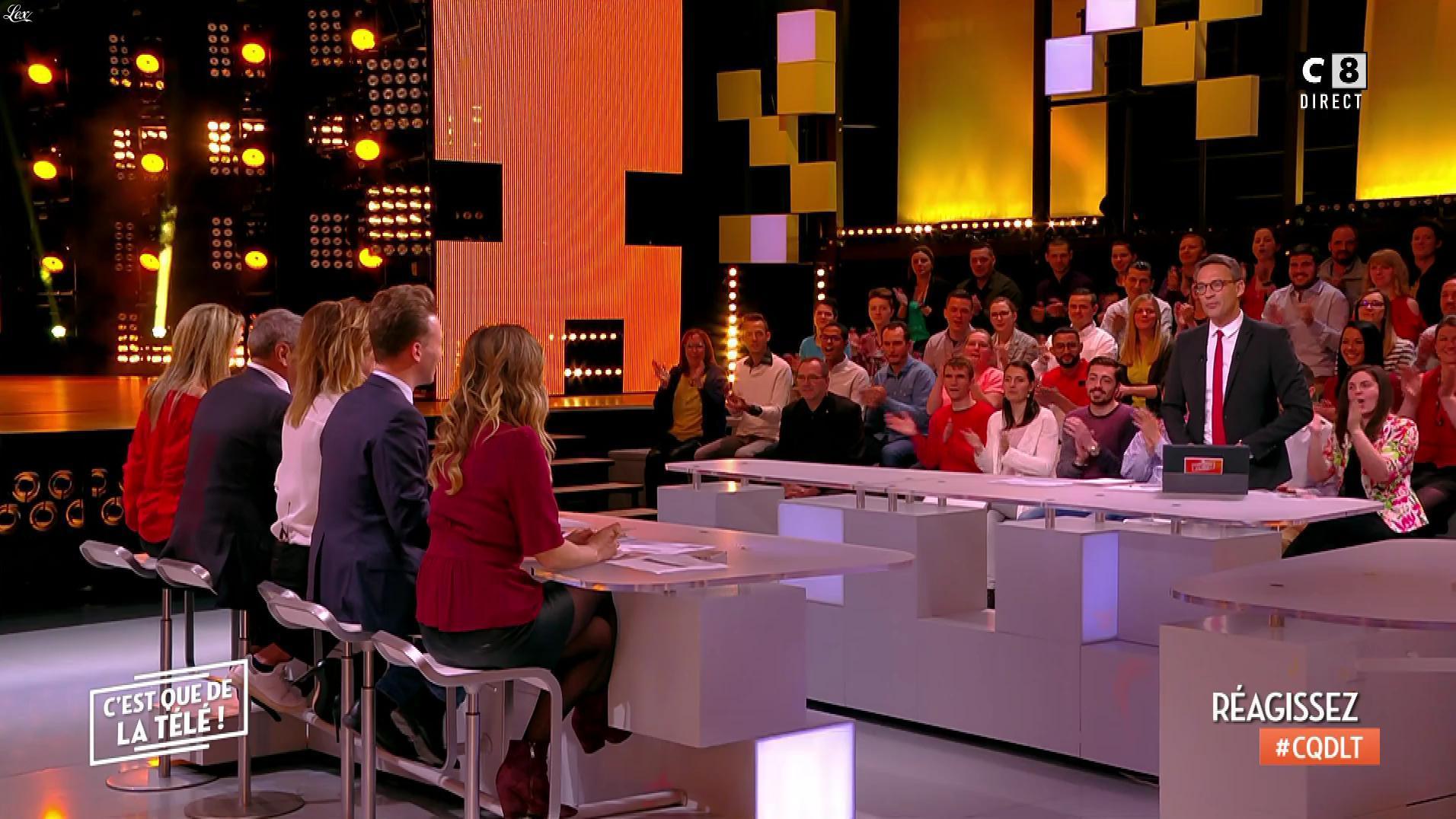 Stéphanie Loire dans c'est Que de la Télé. Diffusé à la télévision le 30/04/18.