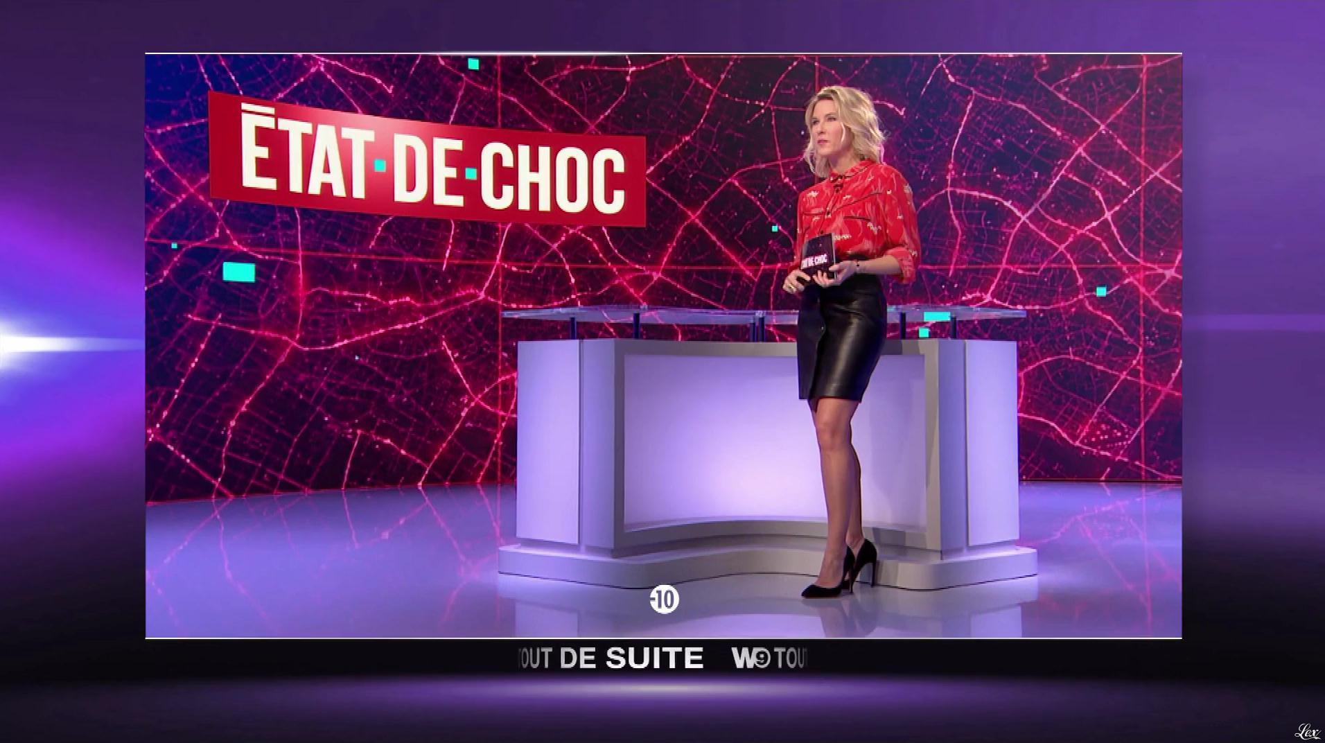 Stéphanie Renouvin dans État de Choc. Diffusé à la télévision le 03/04/18.