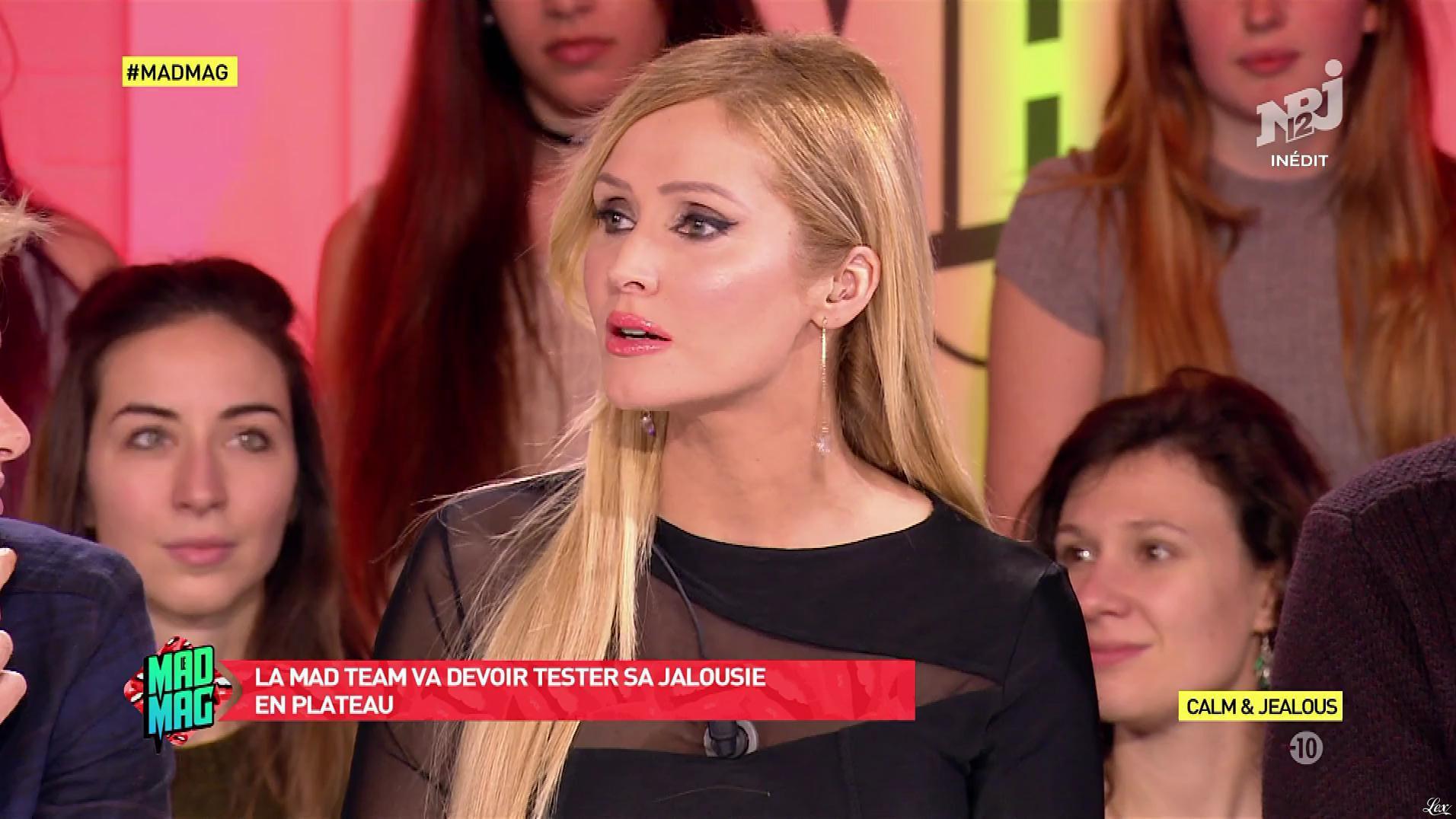 Tatiana Laurens Delarue dans le Mad Mag. Diffusé à la télévision le 04/01/17.