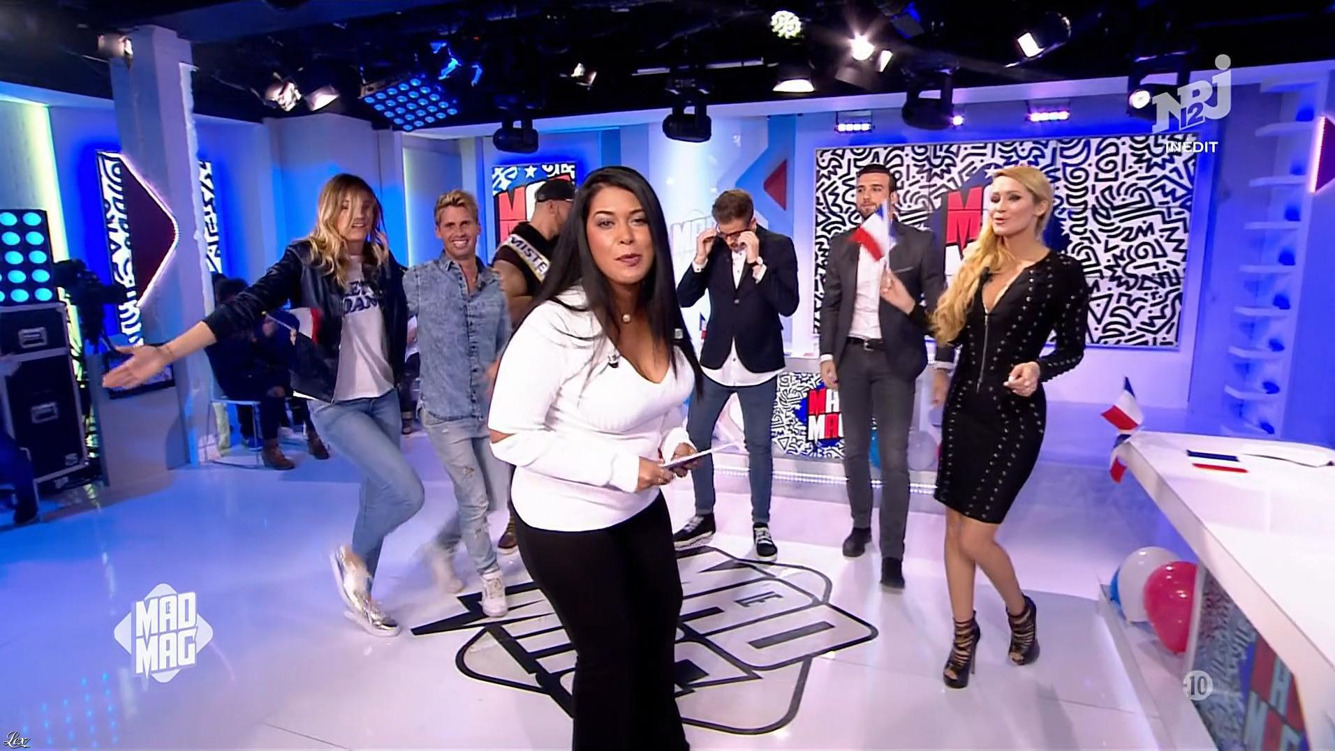 Tatiana Laurens Delarue dans le Mad Mag. Diffusé à la télévision le 30/01/17.