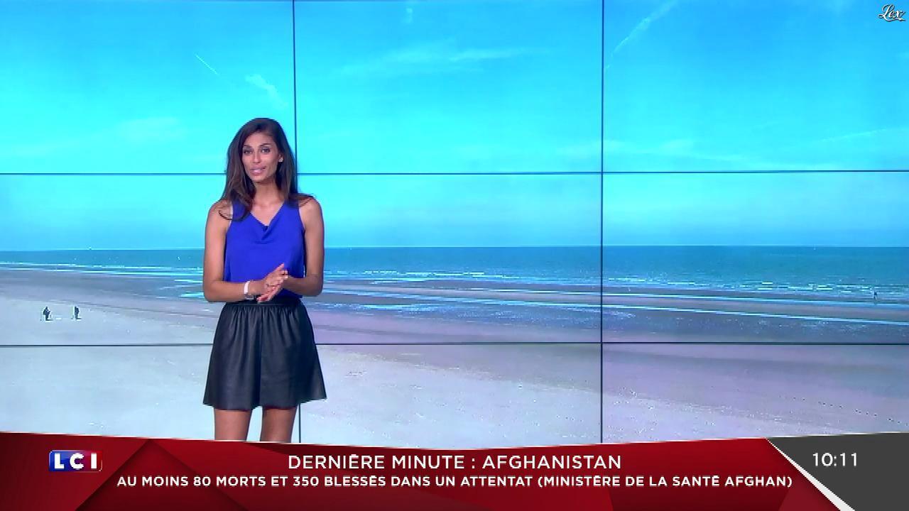 Tatiana Silva à la Météo. Diffusé à la télévision le 31/05/17.