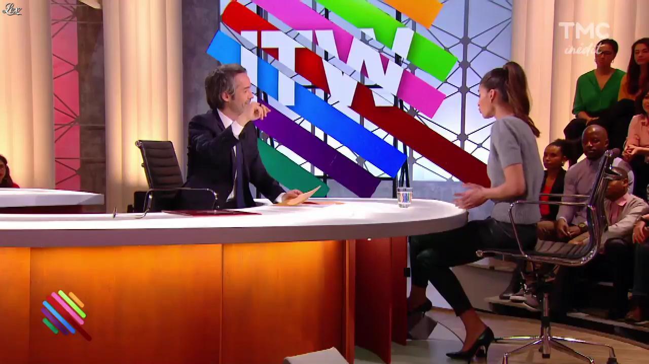 Tatiana Silva dans Quotidien. Diffusé à la télévision le 23/03/17.