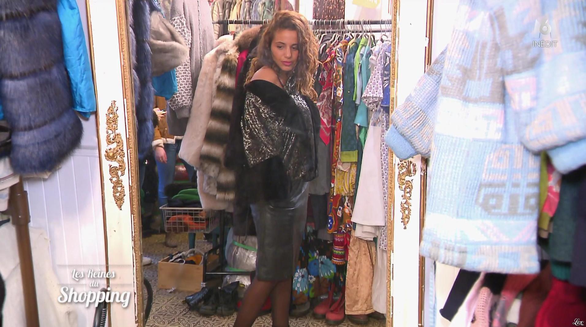 Une Candidate dans les Reines du Shopping. Diffusé à la télévision le 07/03/18.