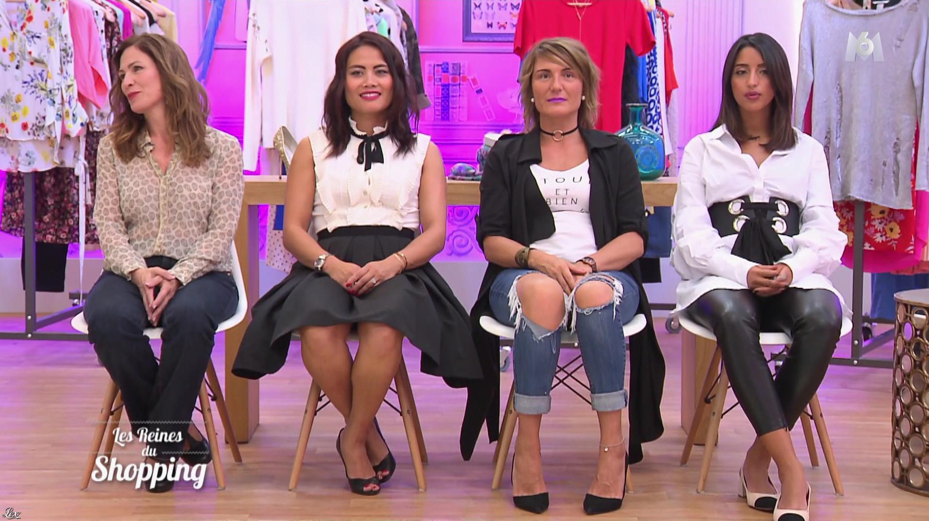 Une Candidate dans les Reines du Shopping. Diffusé à la télévision le 17/01/18.
