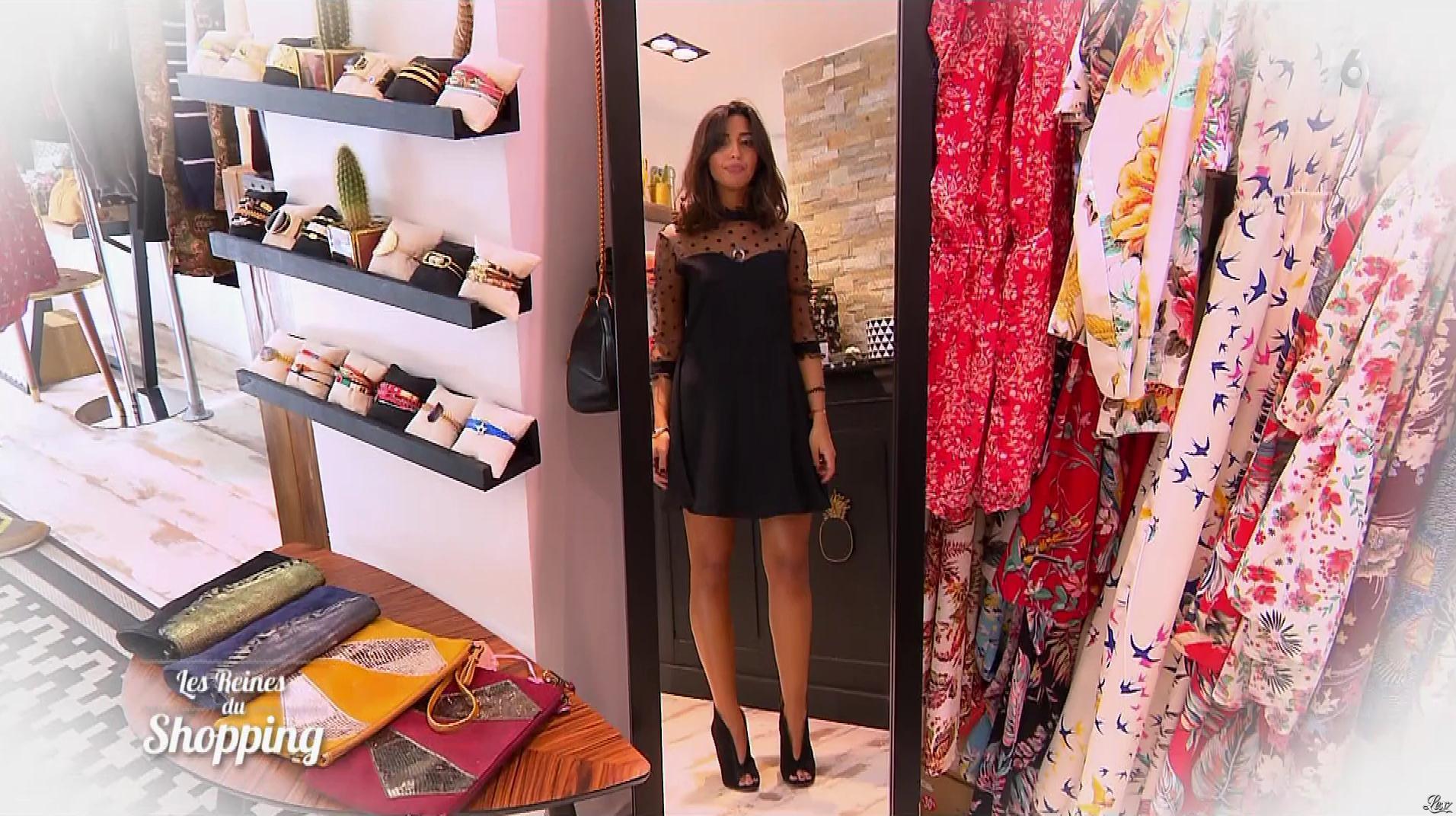 Une Candidate dans les Reines du Shopping. Diffusé à la télévision le 19/01/18.