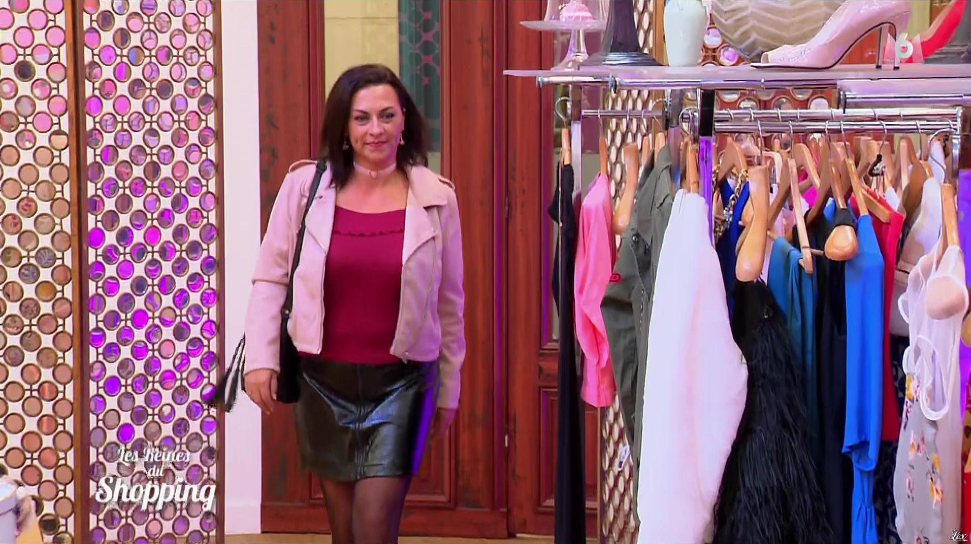 Une Candidate dans les Reines du Shopping. Diffusé à la télévision le 22/01/18.