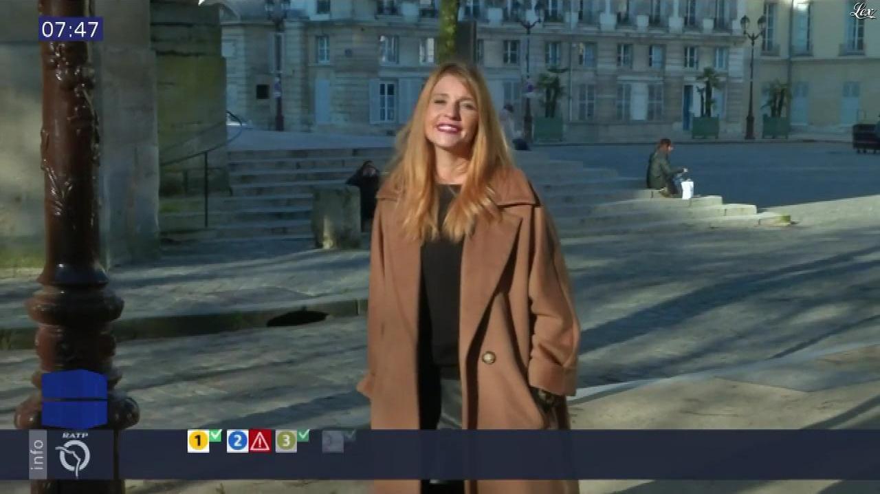Valérie Amarou dans Paris Tendances. Diffusé à la télévision le 04/12/16.