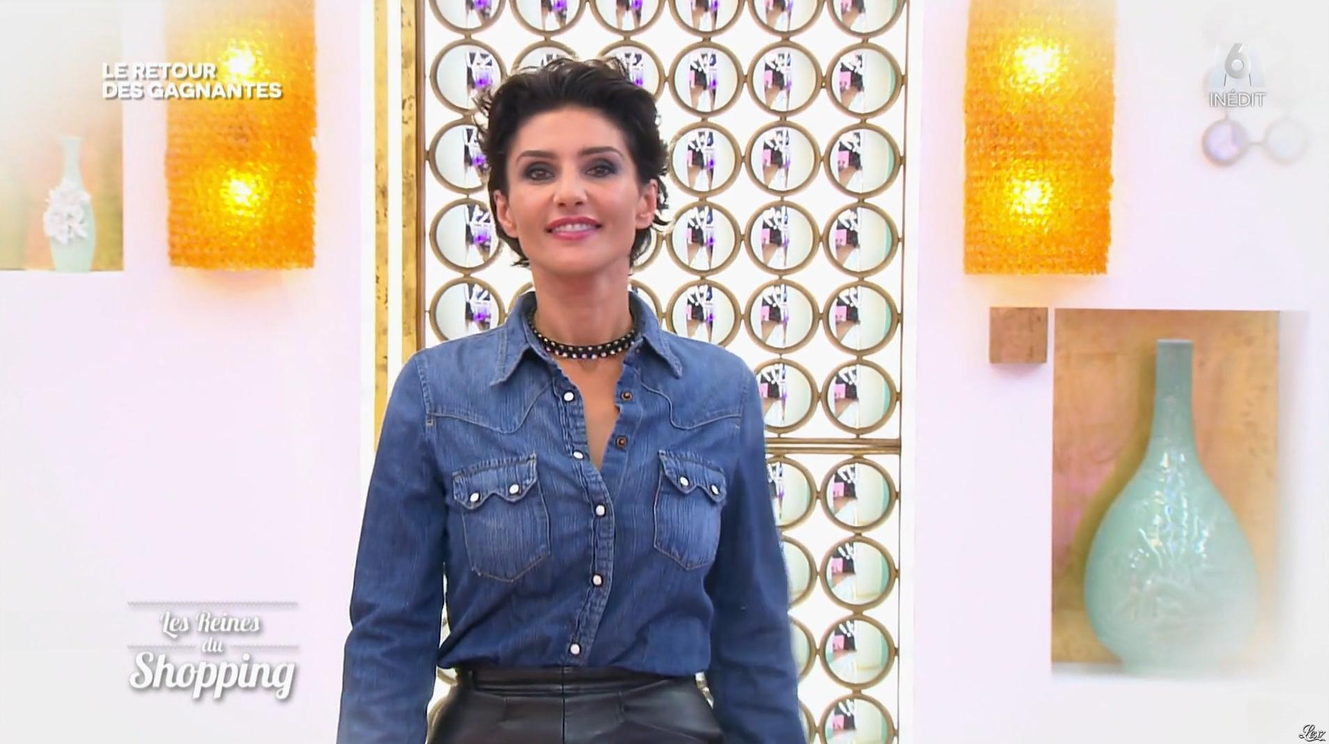Virginie dans les Reines du Shopping. Diffusé à la télévision le 30/01/17.