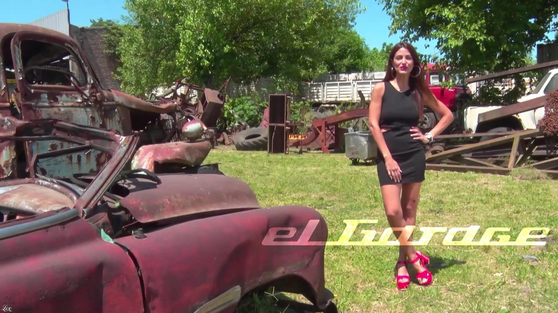 Alejandra Martinez dans El Garage. Diffusé à la télévision le 16/12/18.