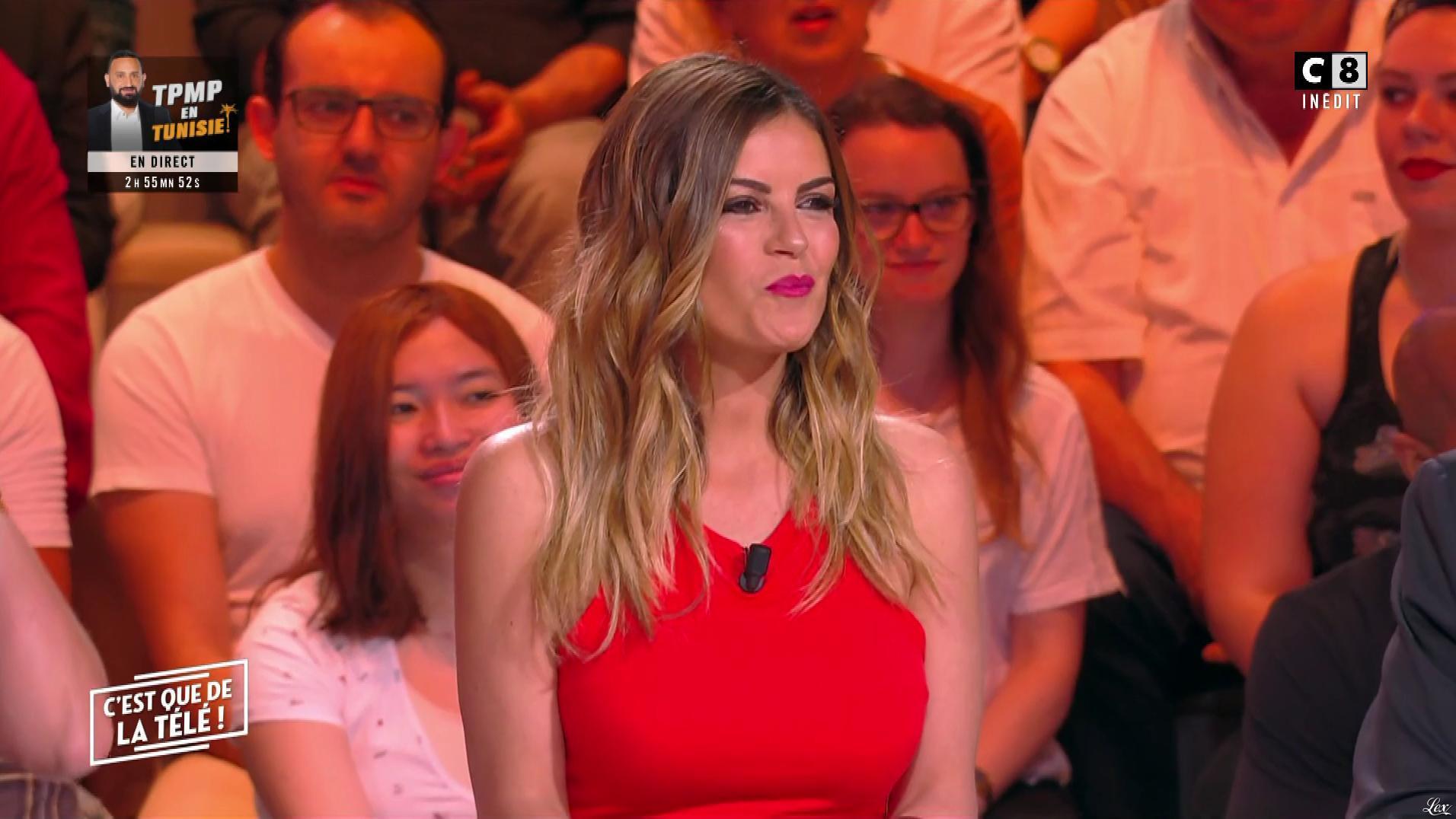 Amélie Bitoun dans c'est Que de la Télé. Diffusé à la télévision le 13/06/19.