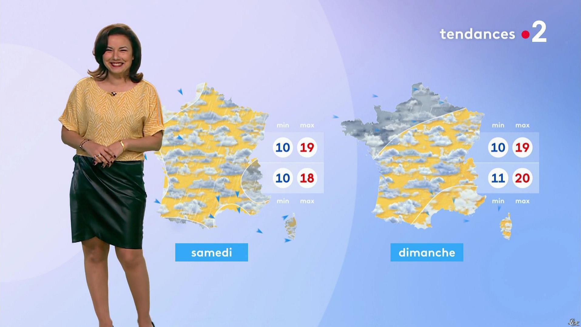 Anaïs Baydemir à la Météo de Midi. Diffusé à la télévision le 20/05/19.