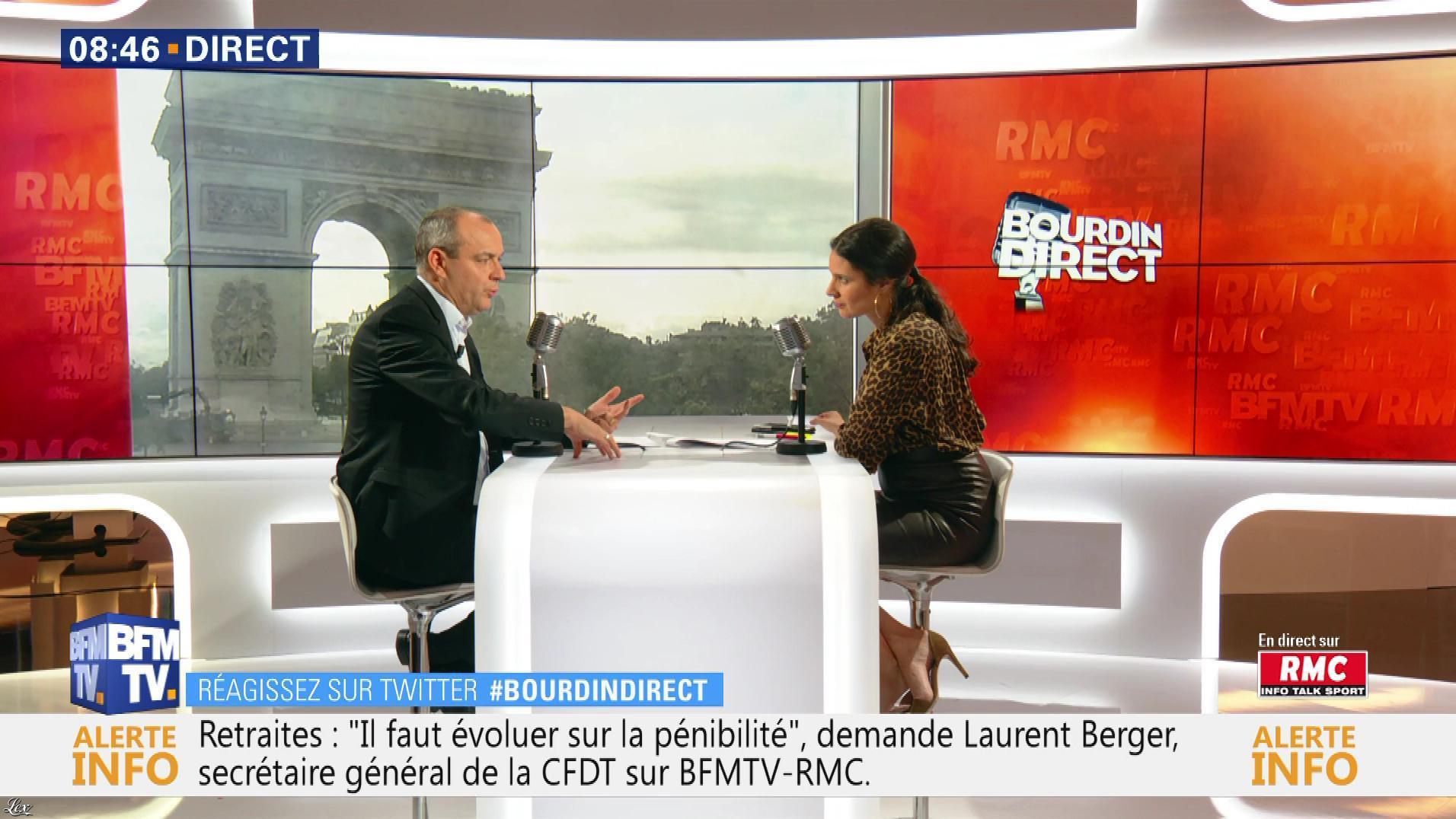 Apolline De Malherbe dans Bourdin Direct. Diffusé à la télévision le 19/07/19.