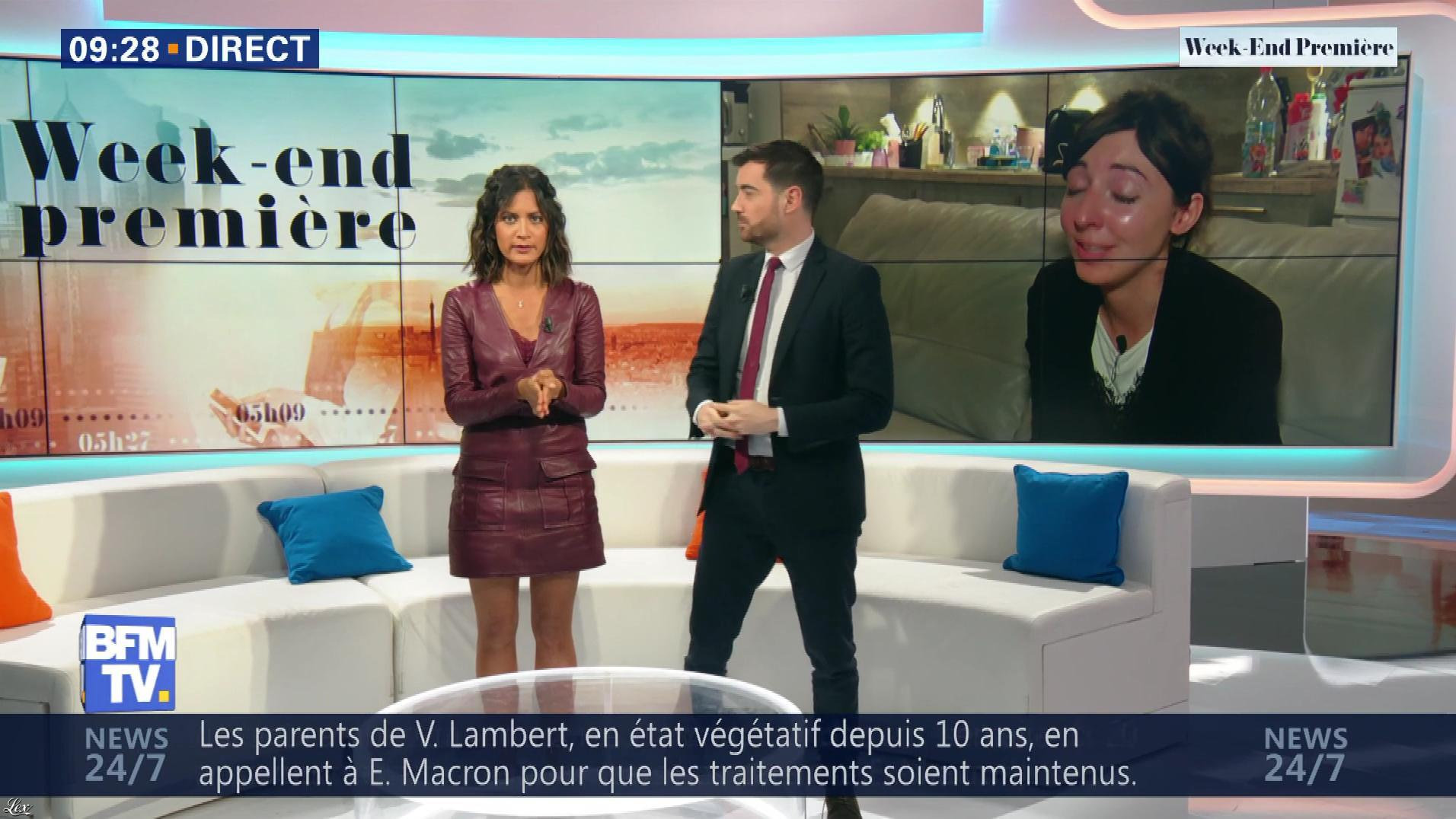Aurélie Casse dans Week-End Première. Diffusé à la télévision le 19/05/19.