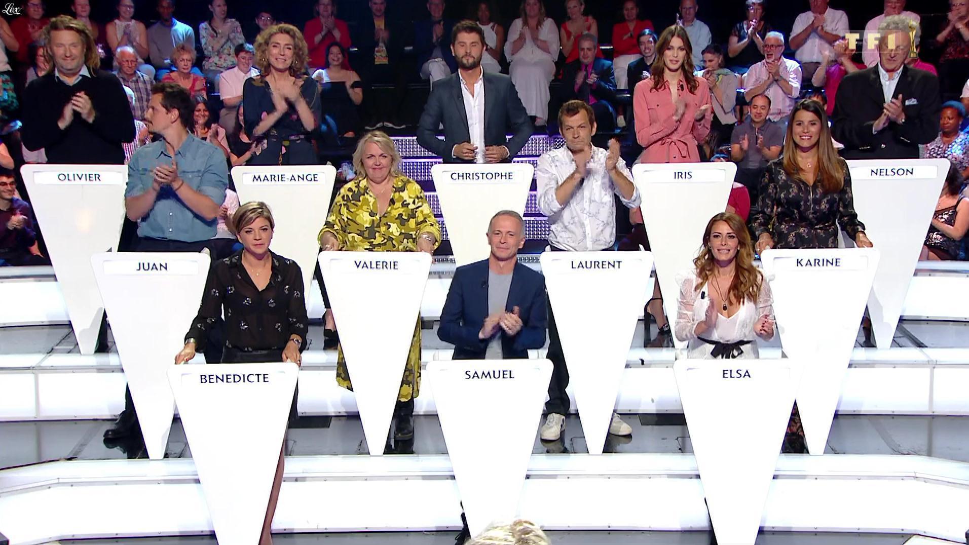 Bénédicte Le Chatelier dans le Grand Concours. Diffusé à la télévision le 22/06/19.