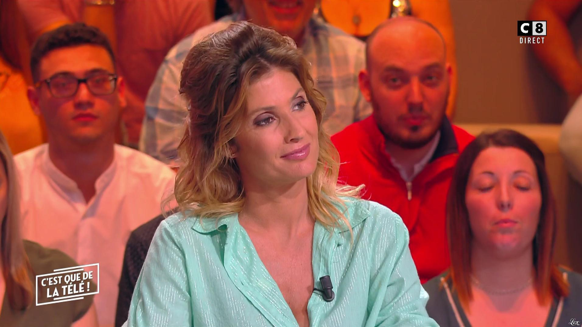 Caroline Ithurbide dans c'est Que de la Télé. Diffusé à la télévision le 04/06/19.