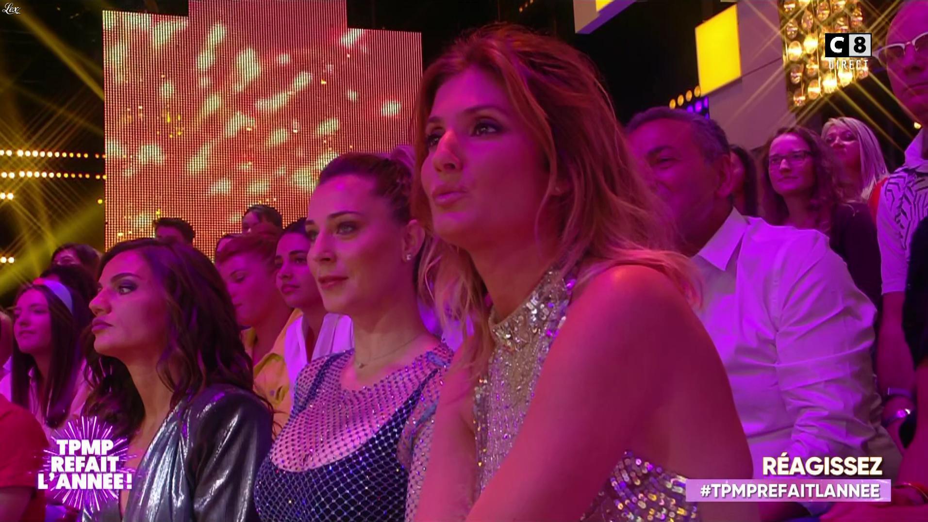 Caroline Ithurbide et FrancesÇa Antoniotti dans Touche pas à mon Poste. Diffusé à la télévision le 20/06/19.