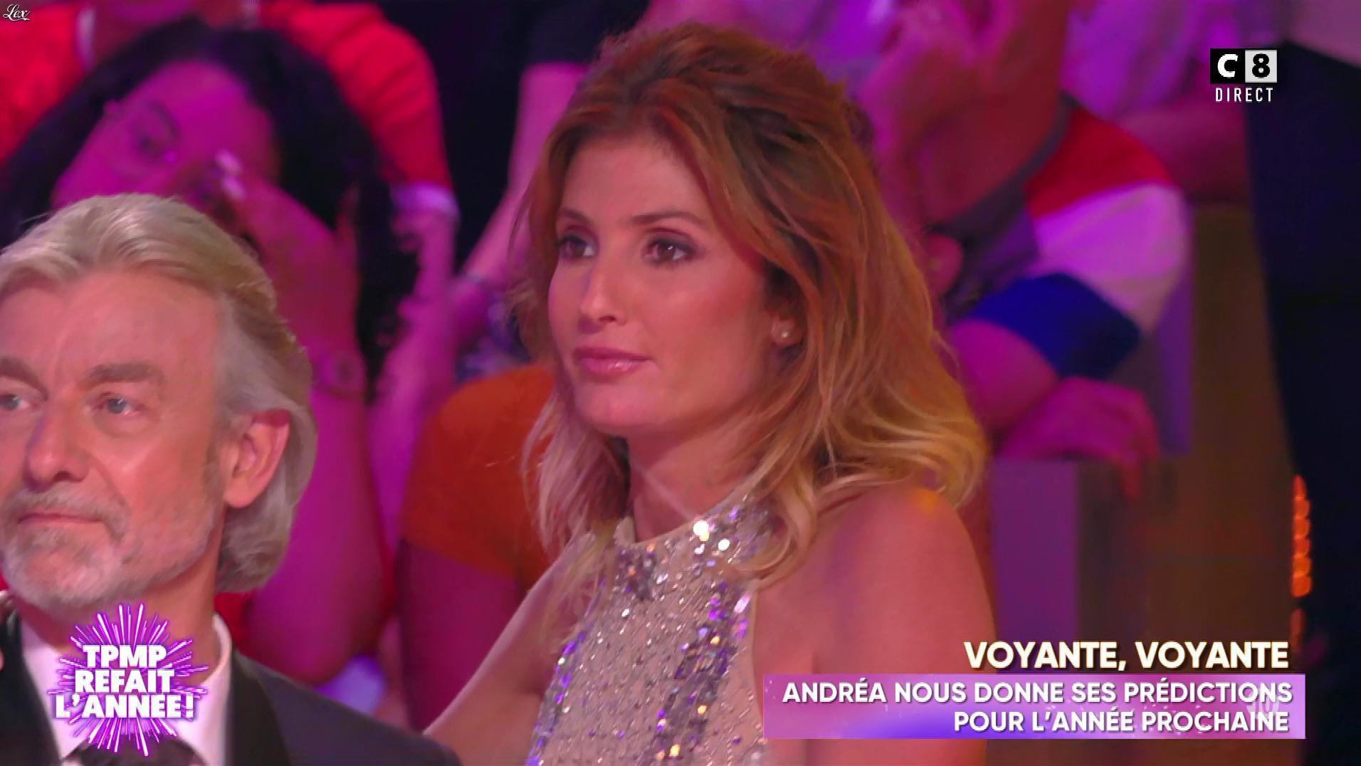 Caroline Ithurbide dans Touche pas à mon Poste. Diffusé à la télévision le 20/06/19.
