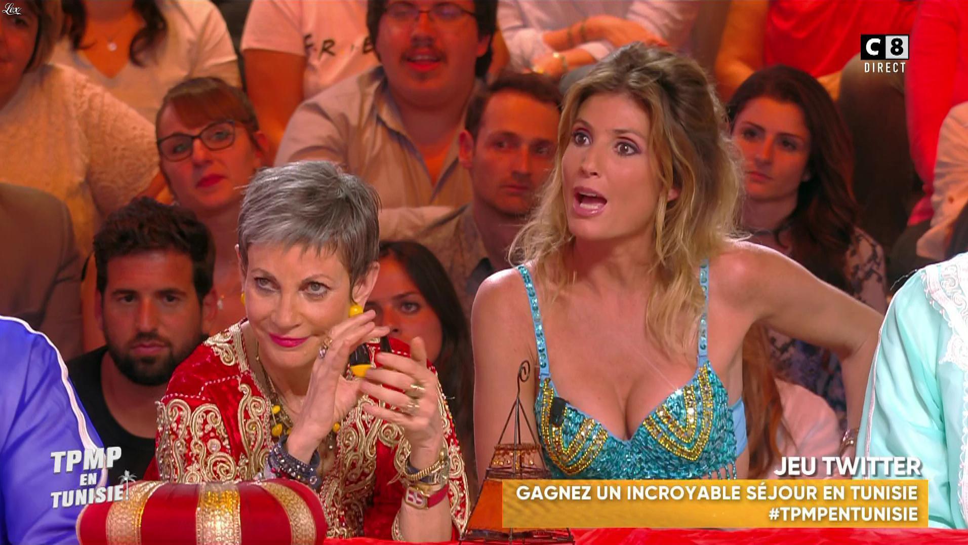 Caroline Ithurbide dans Touche pas à mon Poste en Tunisie. Diffusé à la télévision le 13/06/19.