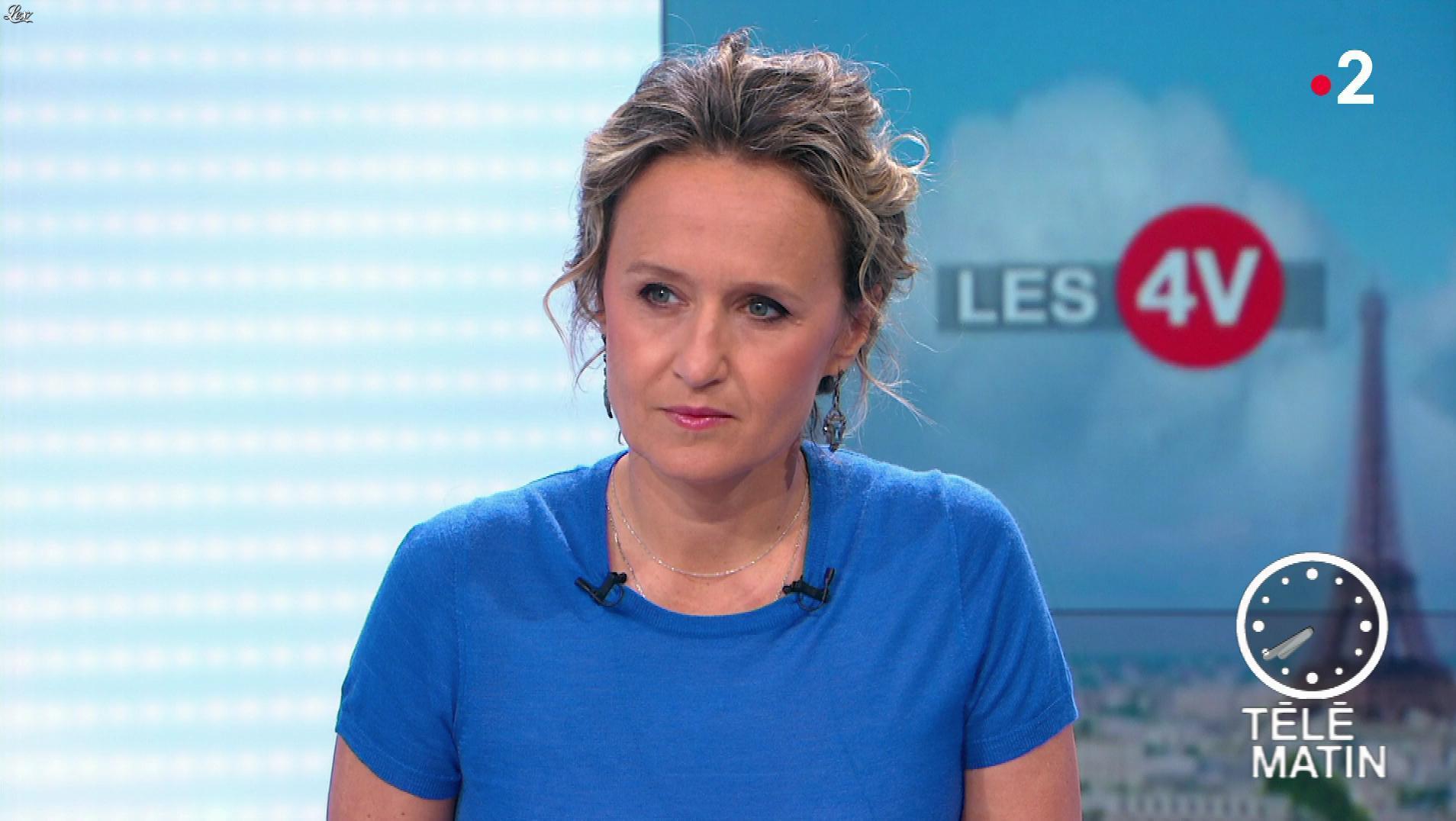 Caroline Roux dans les 4 Vérités. Diffusé à la télévision le 12/06/19.