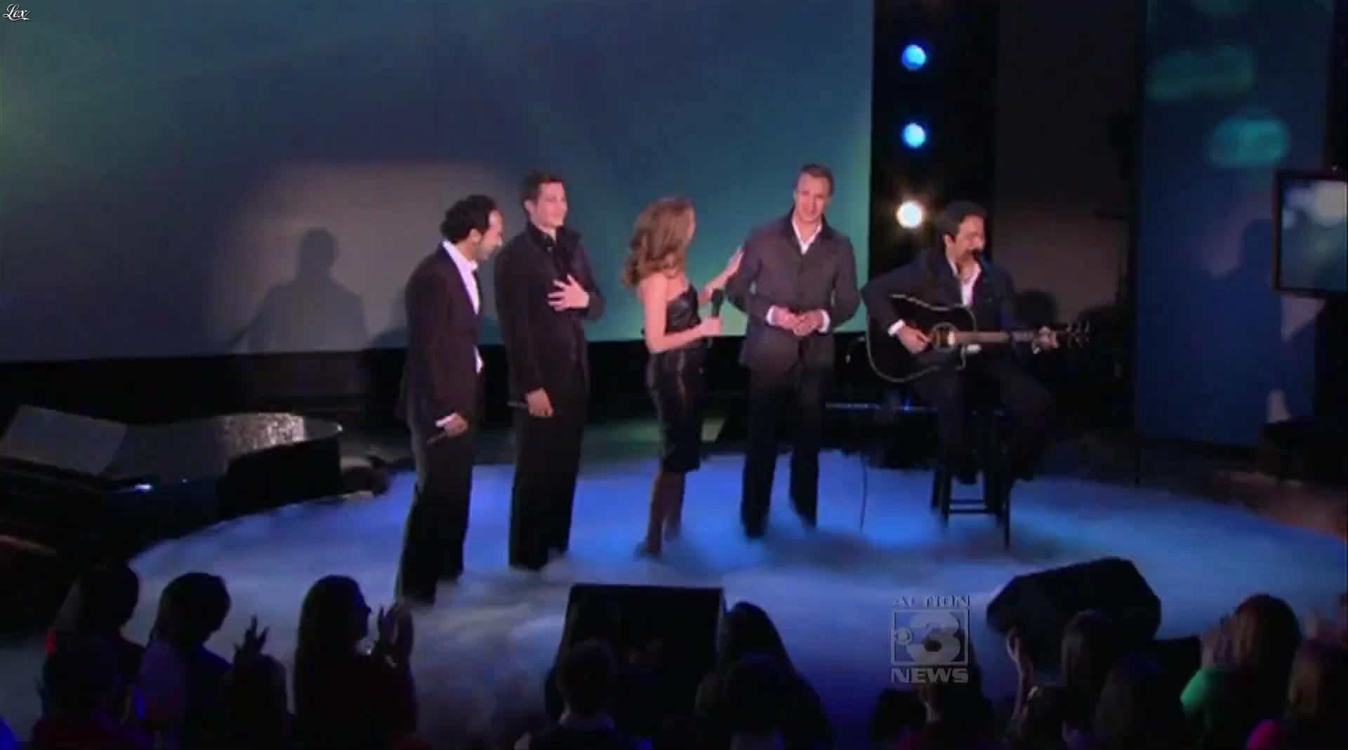 Céline Dion dans le Oprah Winfrey Show. Diffusé à la télévision le 02/10/10.