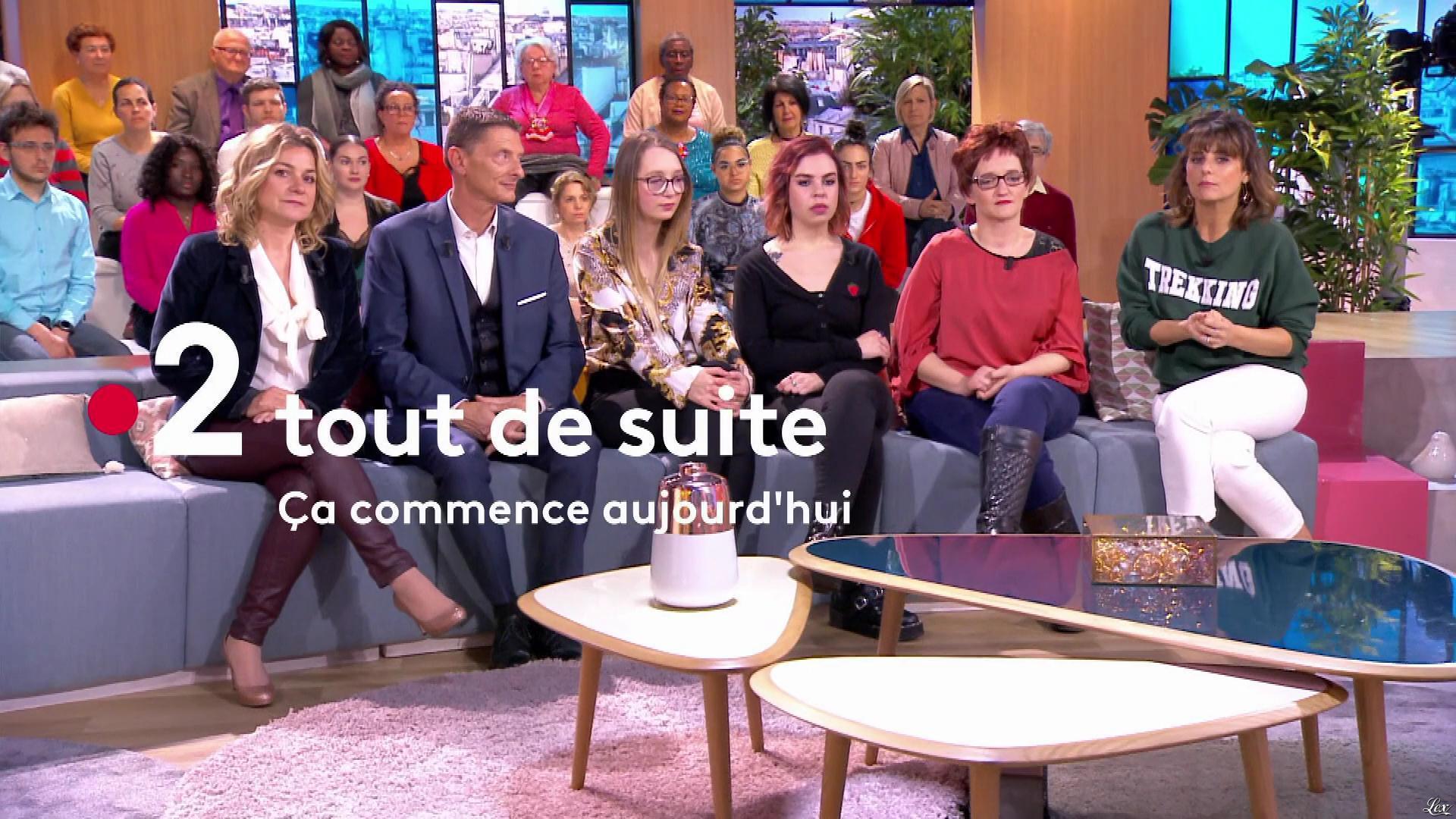 Christèle Albaret dans Ça Commence Aujourd'hui. Diffusé à la télévision le 13/05/19.