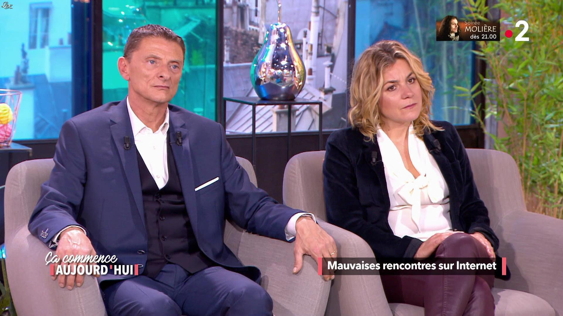 Christele Albaret dans Ça Commence Aujourd'hui. Diffusé à la télévision le 13/05/19.