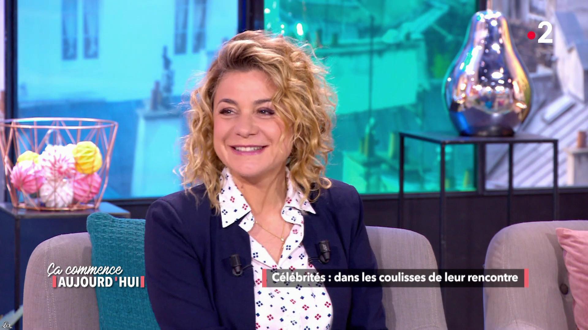 Christèle Albaret dans Ça Commence Aujourd'hui. Diffusé à la télévision le 14/06/19.