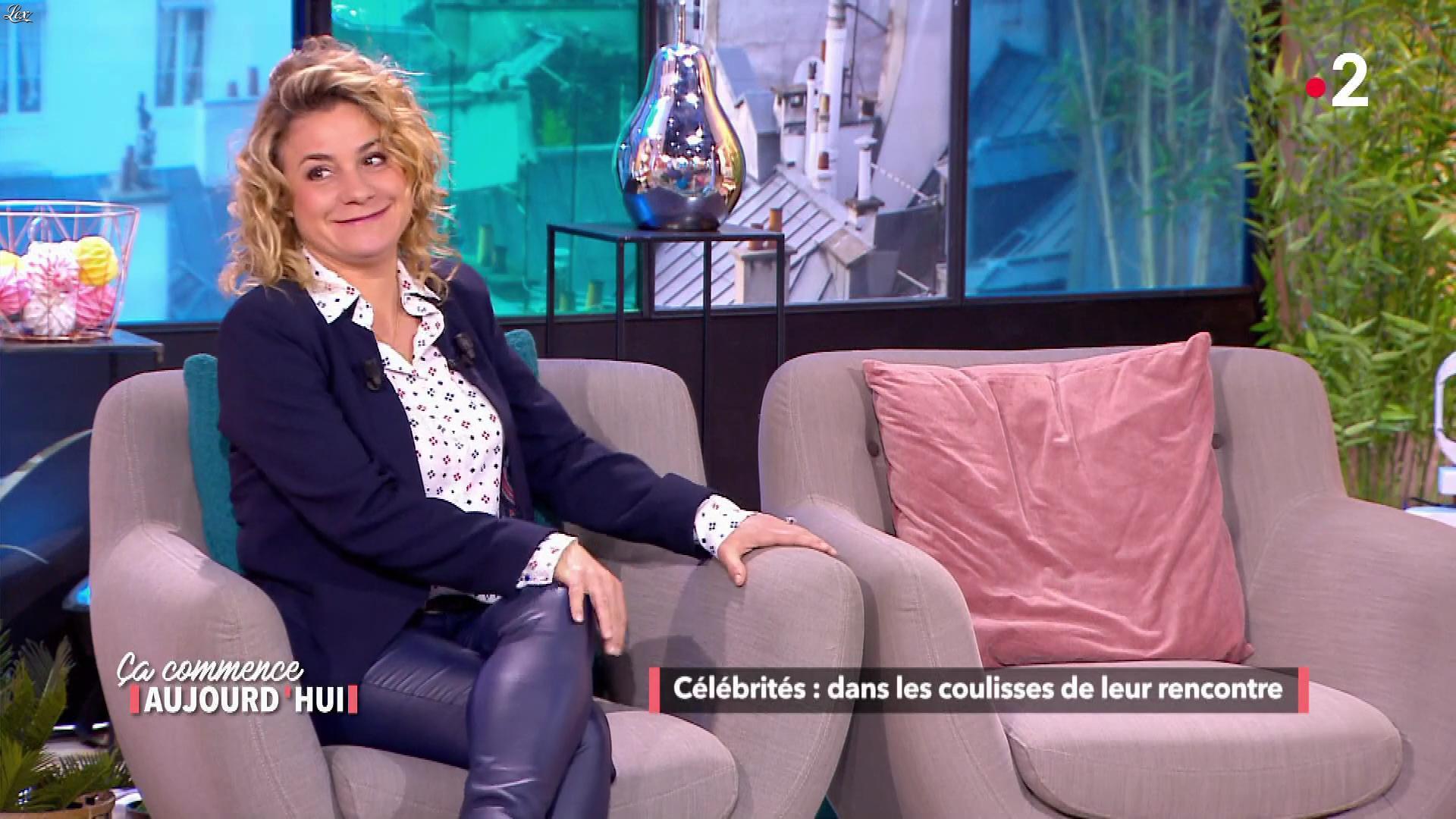 Christele Albaret dans Ça Commence Aujourd'hui. Diffusé à la télévision le 14/06/19.