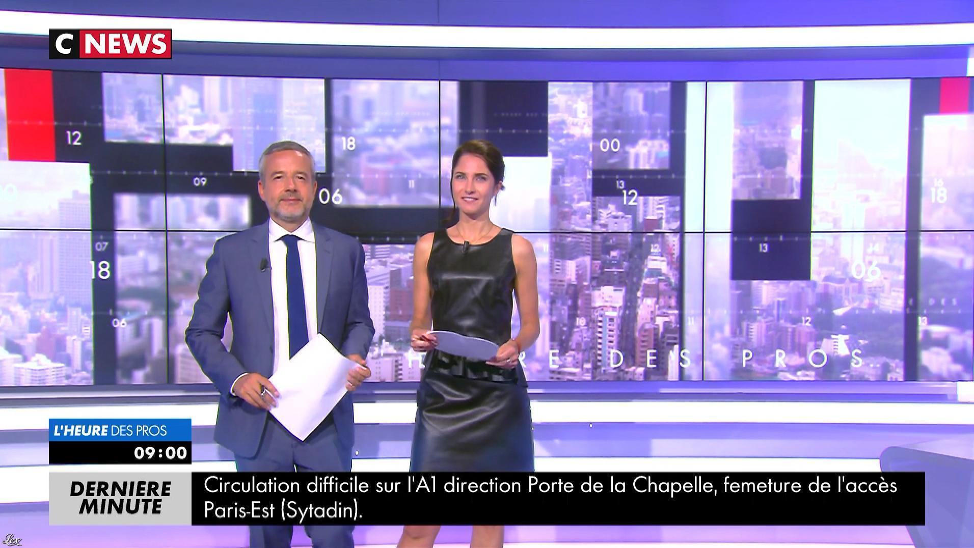 Clélie Mathias dans la Matinale. Diffusé à la télévision le 06/09/17.