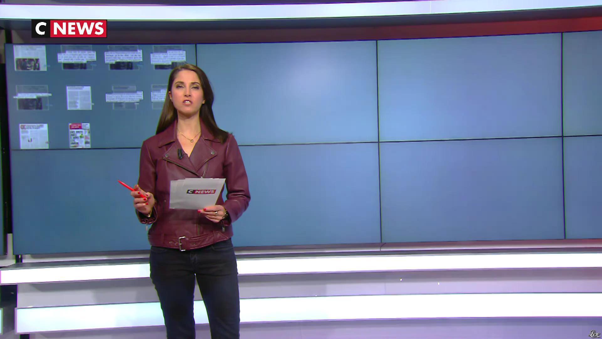 Clelie Mathias dans la Matinale. Diffusé à la télévision le 06/12/18.