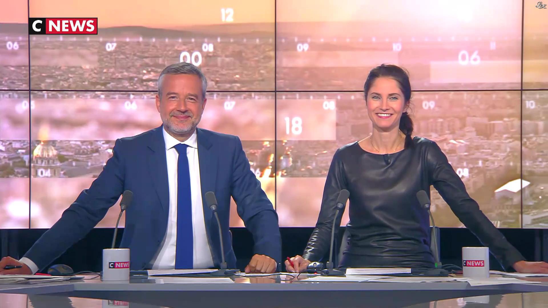 Clelie Mathias dans la Matinale. Diffusé à la télévision le 07/06/18.
