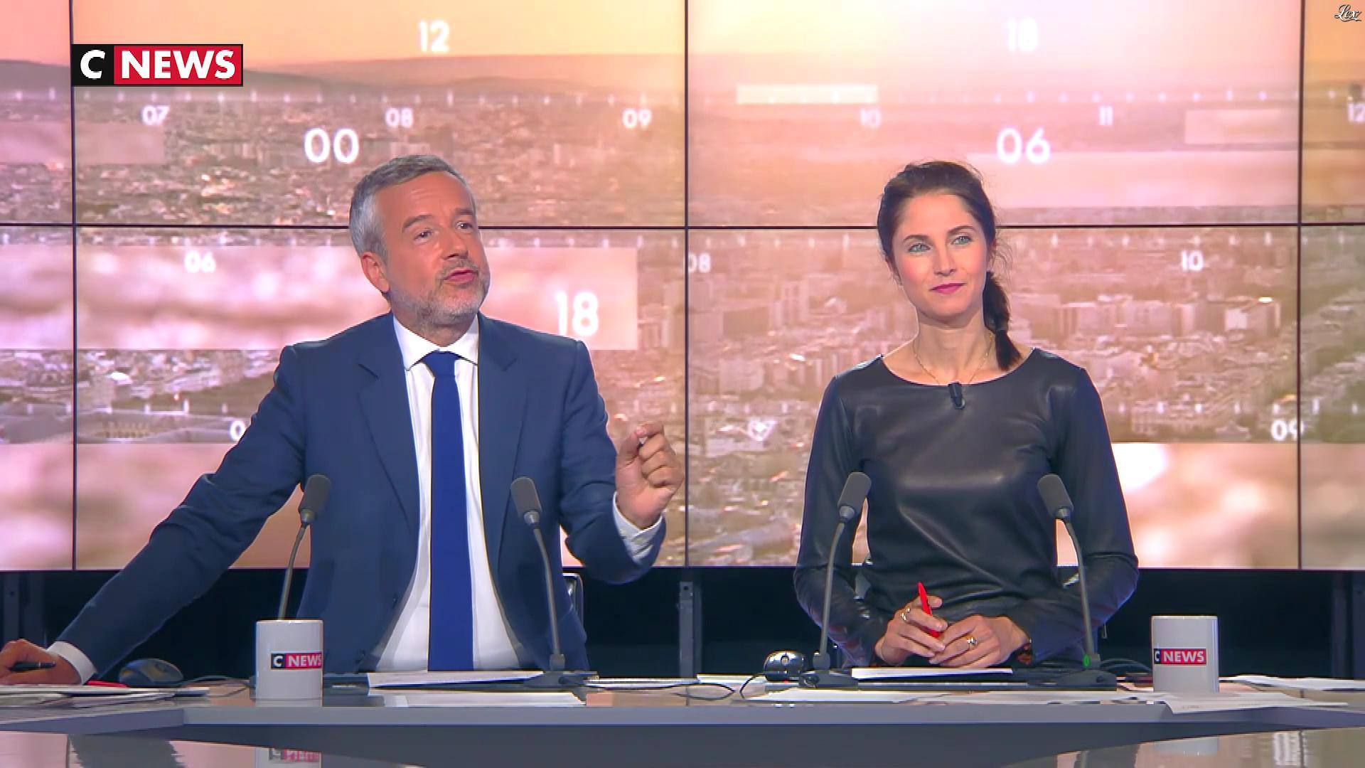 Clélie Mathias dans la Matinale. Diffusé à la télévision le 07/06/18.