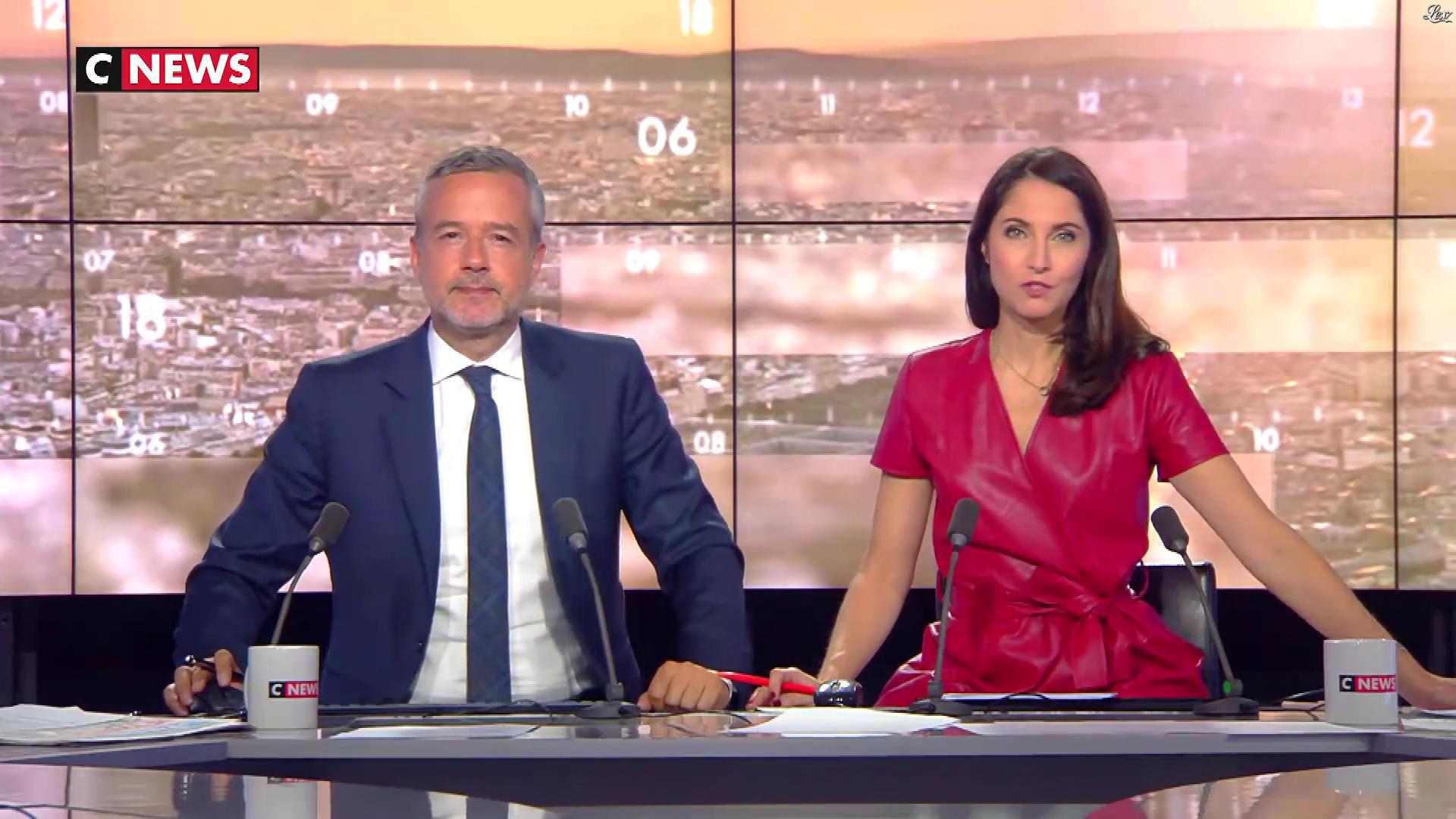 Clélie Mathias dans la Matinale. Diffusé à la télévision le 11/10/18.
