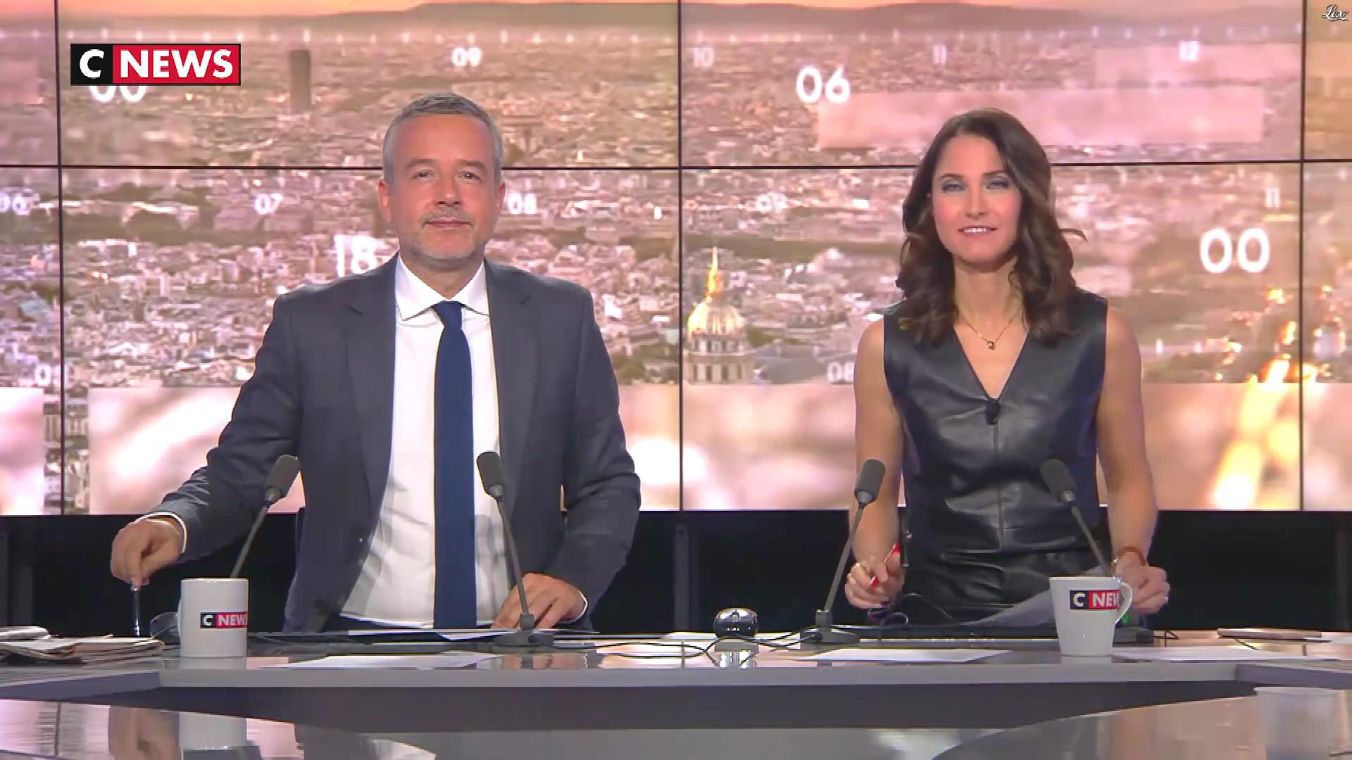 Clélie Mathias dans la Matinale. Diffusé à la télévision le 14/11/18.