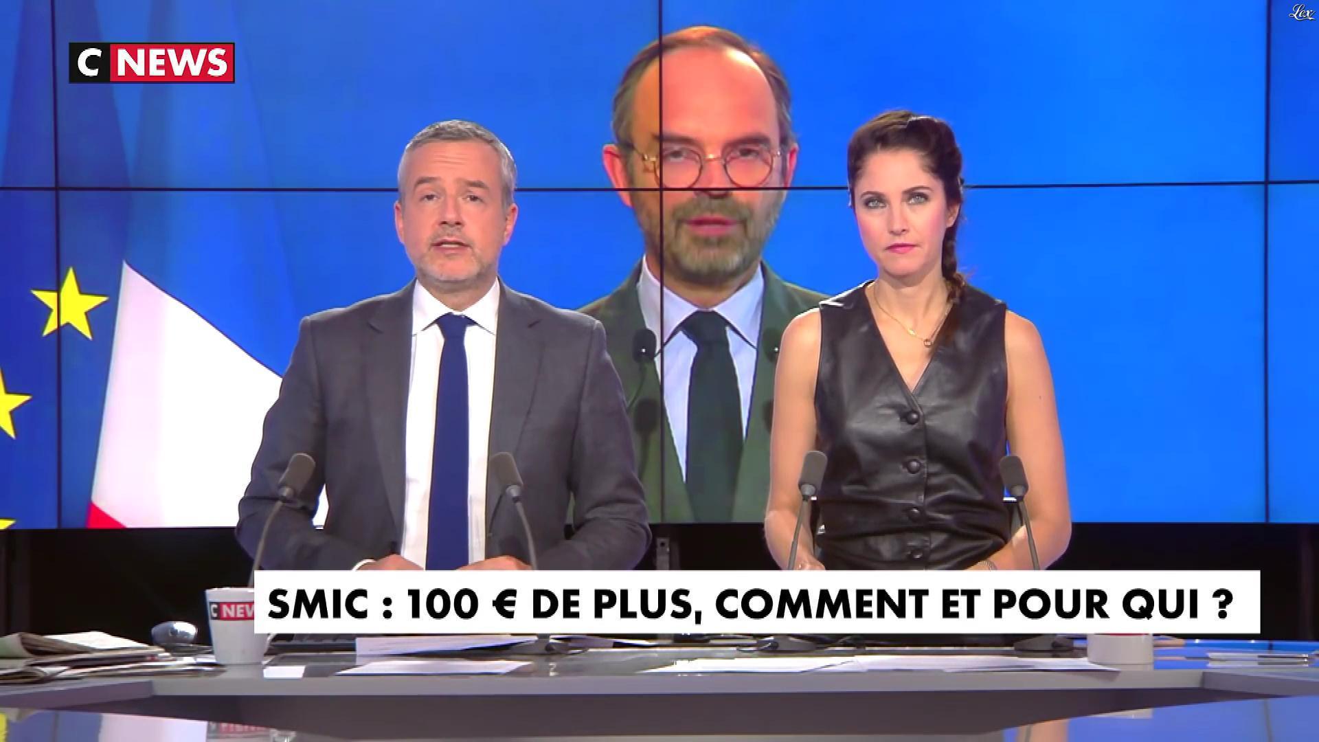 Clélie Mathias dans la Matinale. Diffusé à la télévision le 17/12/18.