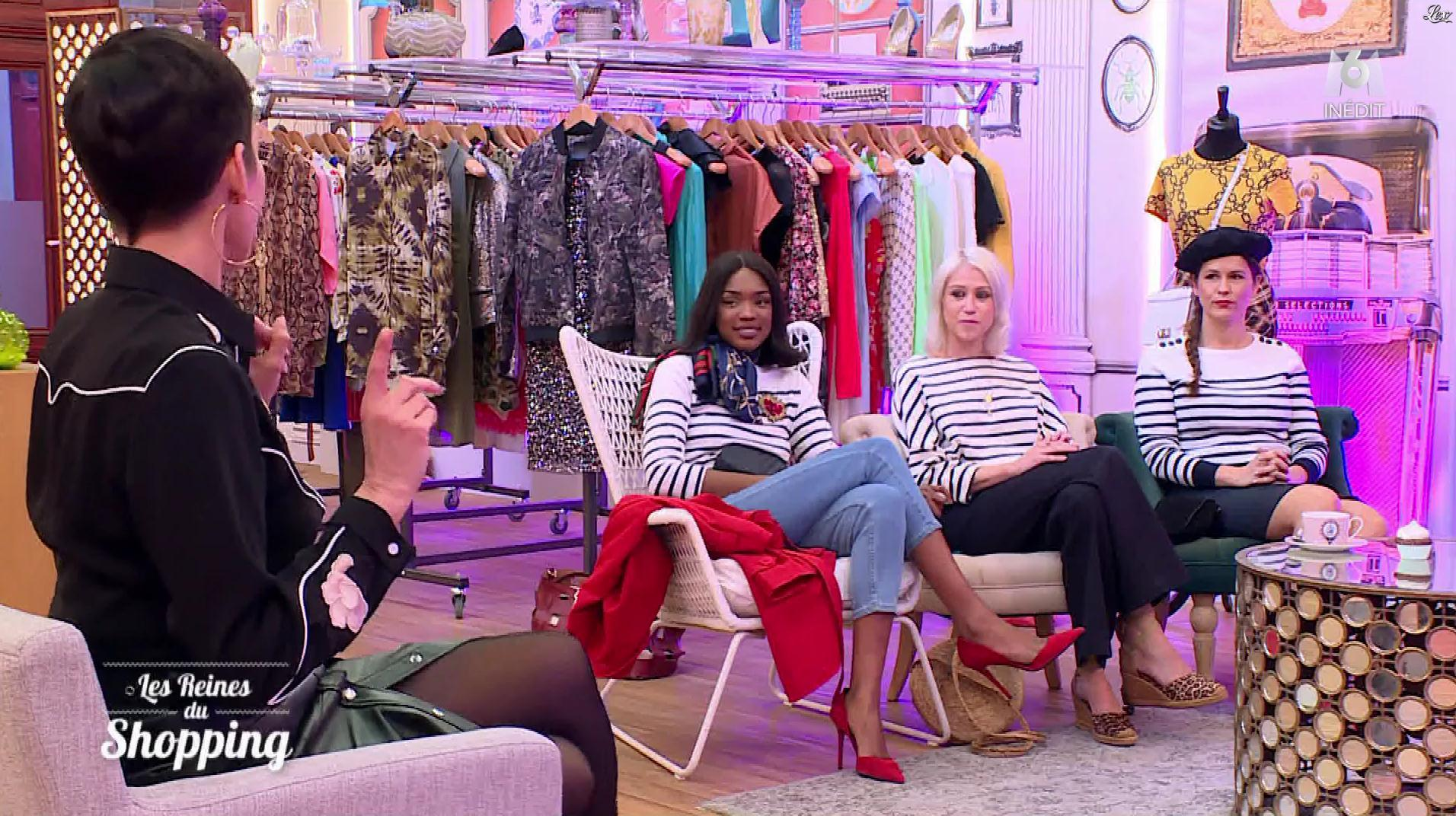 Cristina Cordula dans les Reines du Shopping. Diffusé à la télévision le 14/06/19.