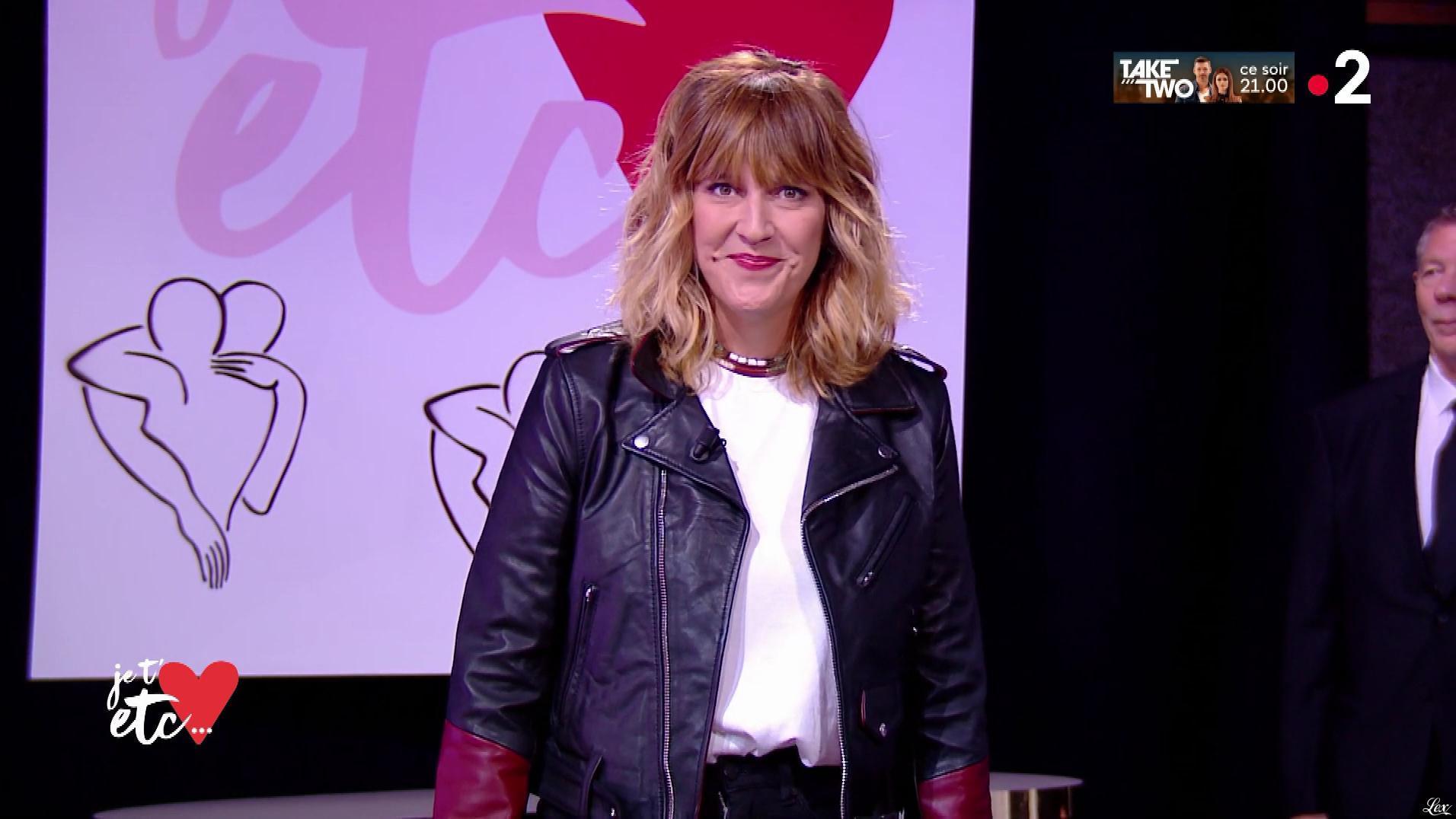 Daphné Burki dans Je t aime etc. Diffusé à la télévision le 01/10/18.