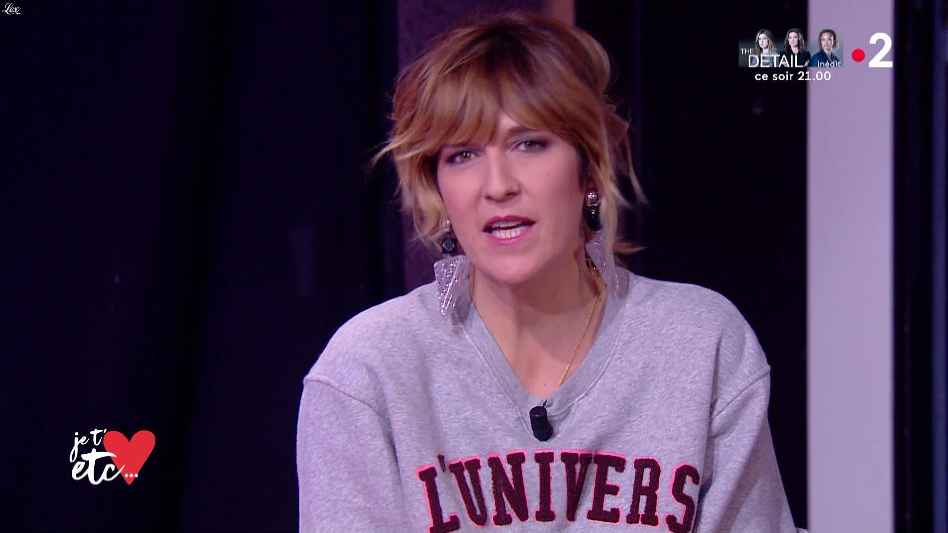 Daphné Burki dans Je t'aime, etc.. Diffusé à la télévision le 07/01/19.
