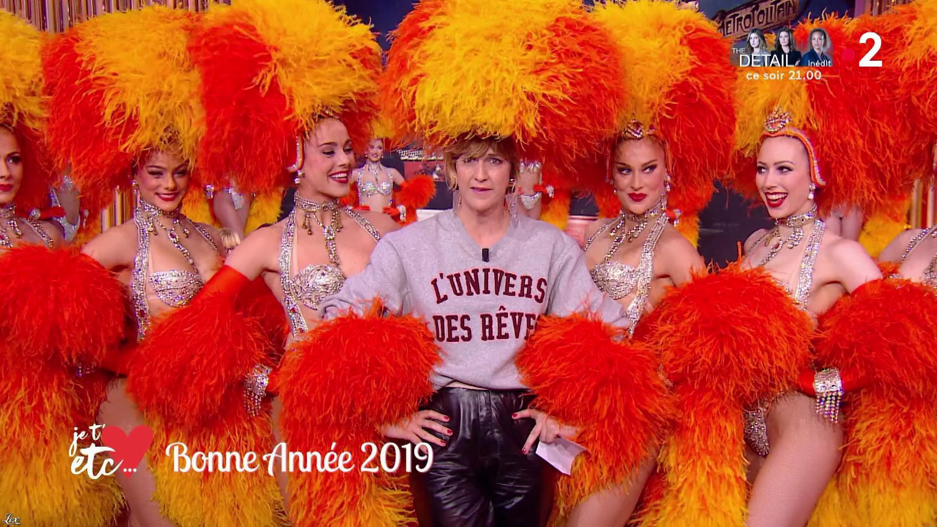 Daphné Burki et des Danseuses dans Je t'aime, etc.. Diffusé à la télévision le 07/01/19.