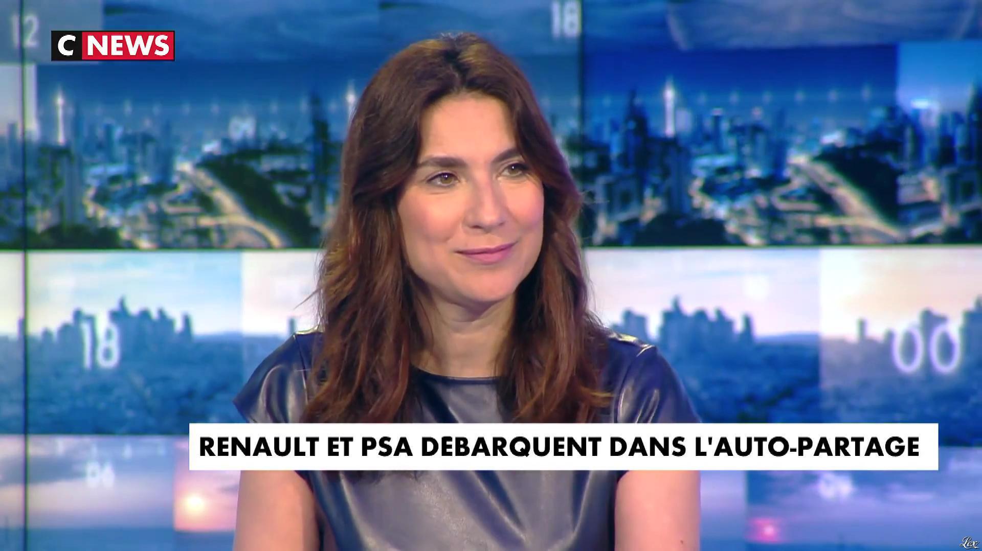 Elisabeth Assayag dans la Chronique Eco. Diffusé à la télévision le 04/07/18.