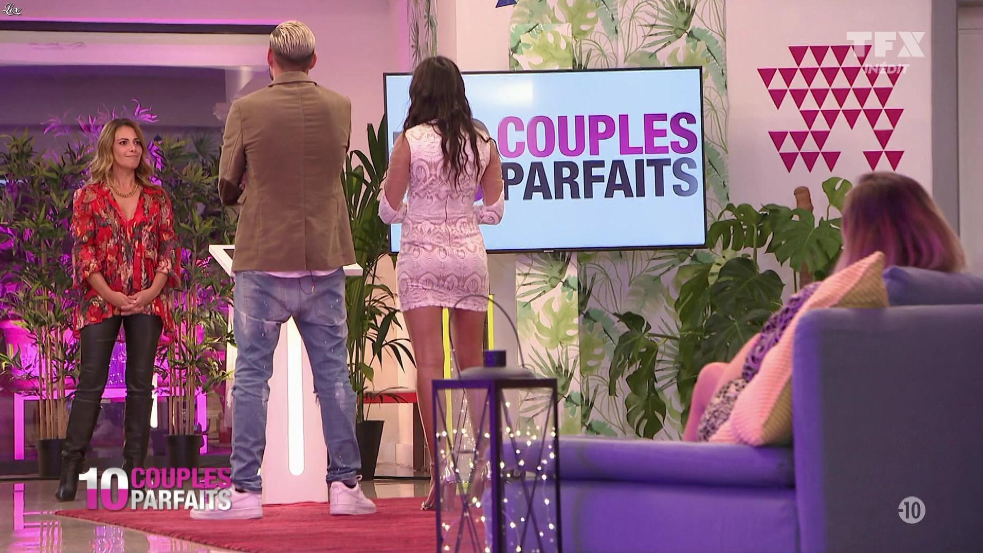 Elsa Fayer dans 10 Couples Parfaits. Diffusé à la télévision le 24/05/19.