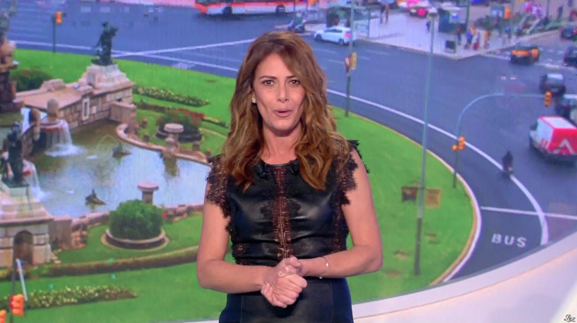 Elsa Fayer dans Euro Millions. Diffusé à la télévision le 05/01/19.