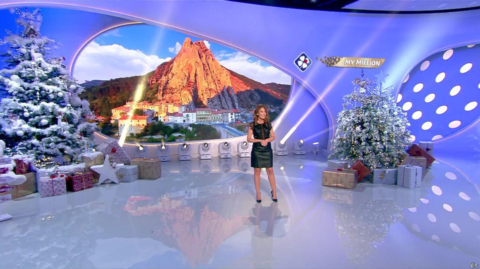 Elsa Fayer dans My Million. Diffusé à la télévision le 04/01/19.